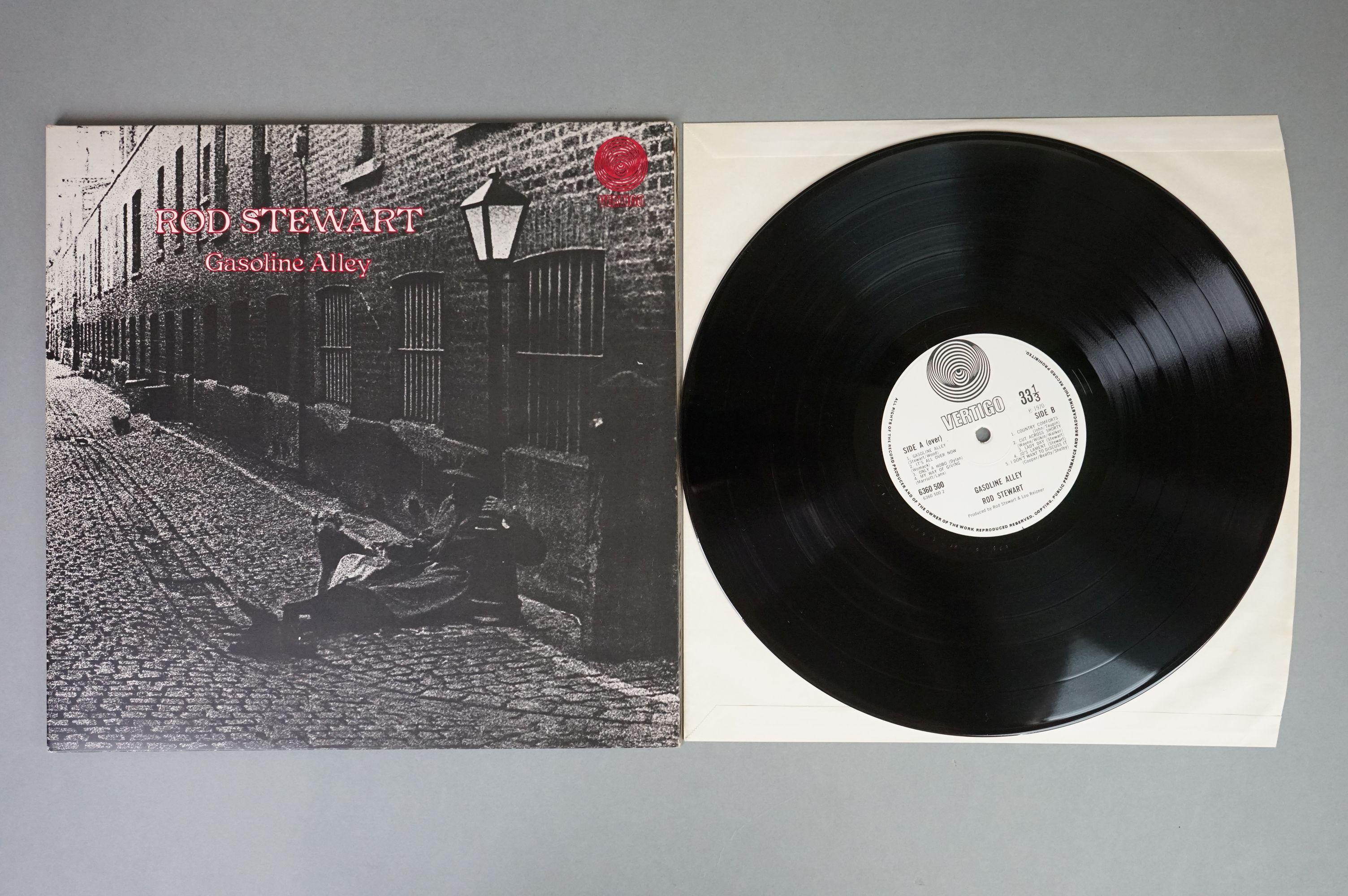 Vinyl - Rod Stewart 4 LP's to include An Old Raincoat Won't Ever Let You Down (Vertigo VO4) gatefold - Image 9 of 14
