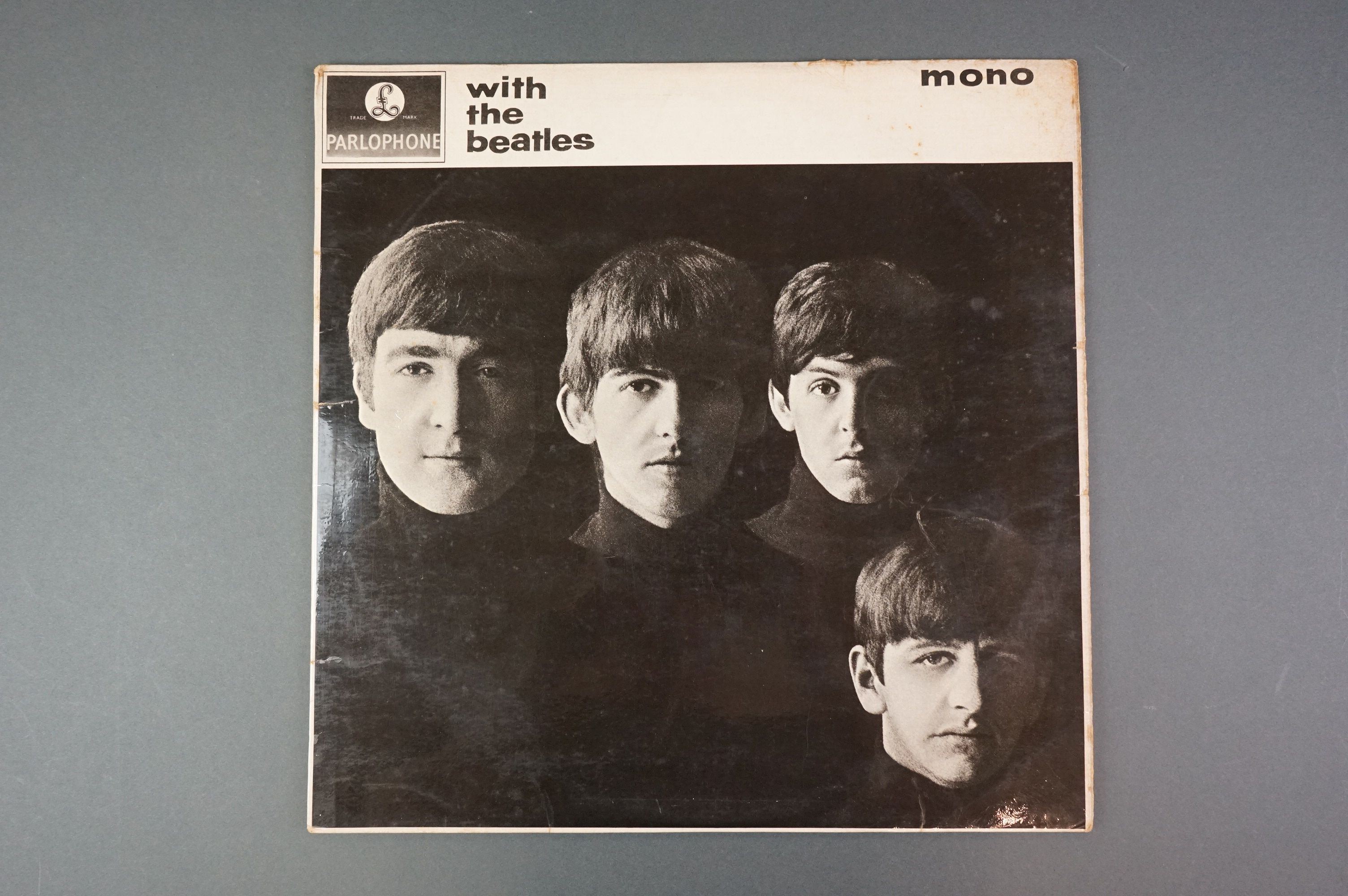 Vinyl - The Beatles With The Beatles x 2 copies to include PMC 1206, The Parlophone Co Ltd to - Image 2 of 6