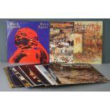 Vinyl - Fourteen Black Sabbath vinyl LP's to include Born Again (Vertigo Records VERL 8), Greatest
