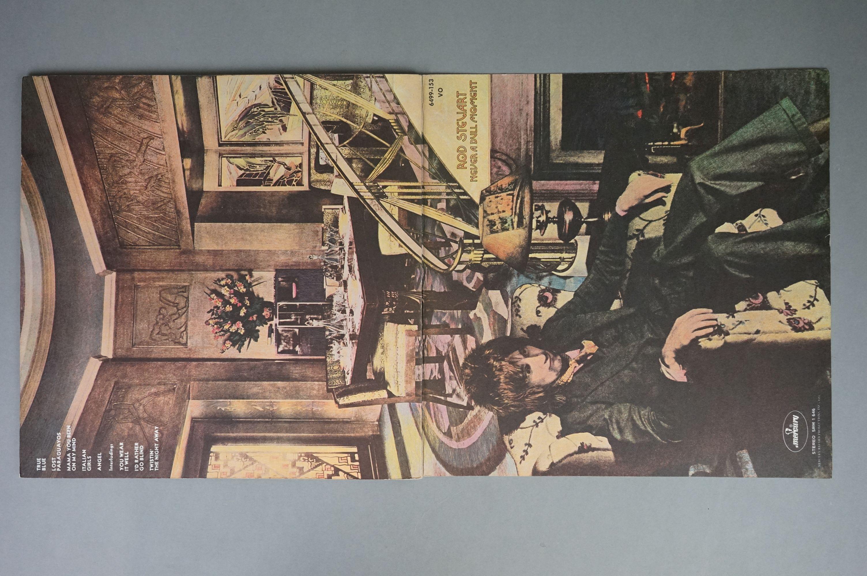 Vinyl - Rod Stewart 4 LP's to include An Old Raincoat Won't Ever Let You Down (Vertigo VO4) gatefold - Image 6 of 14