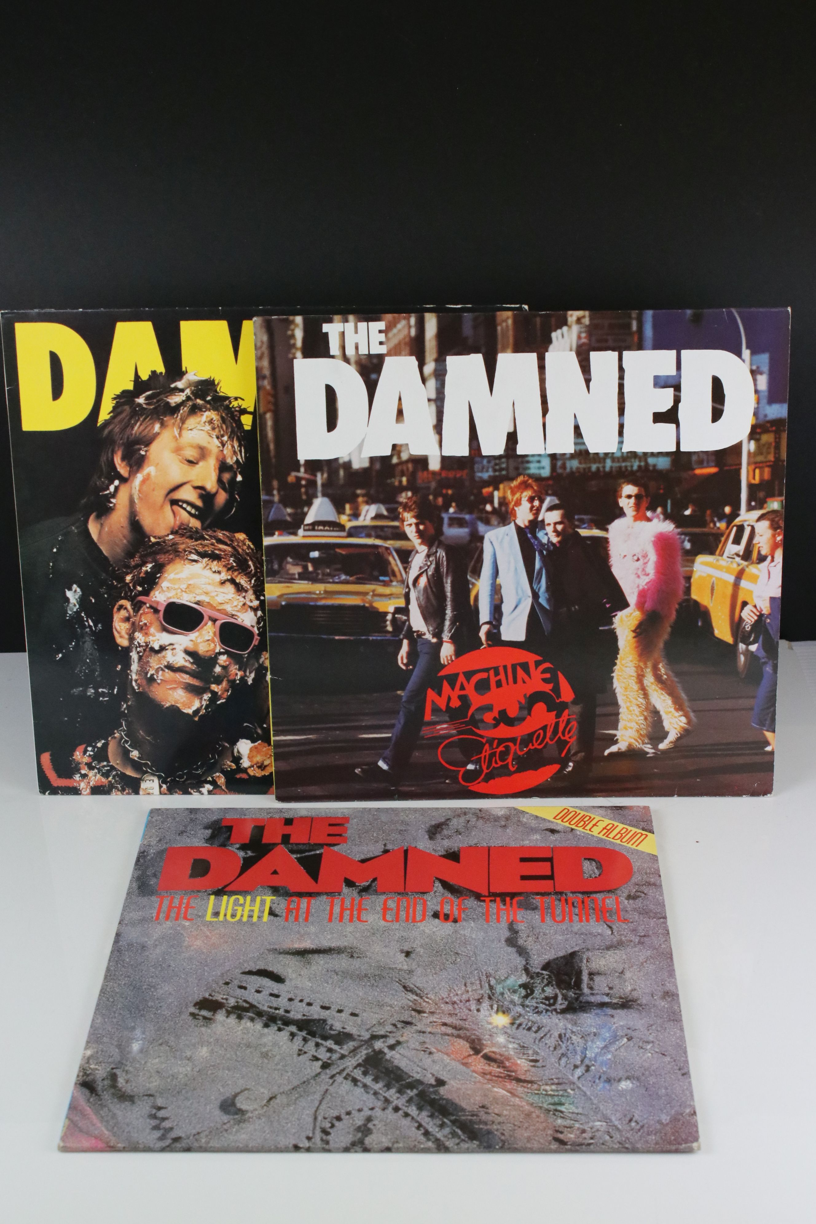 Vinyl - The Damned - Two reissue LPs to include Damned Damned Damned & Machine Gun Etiquette plus