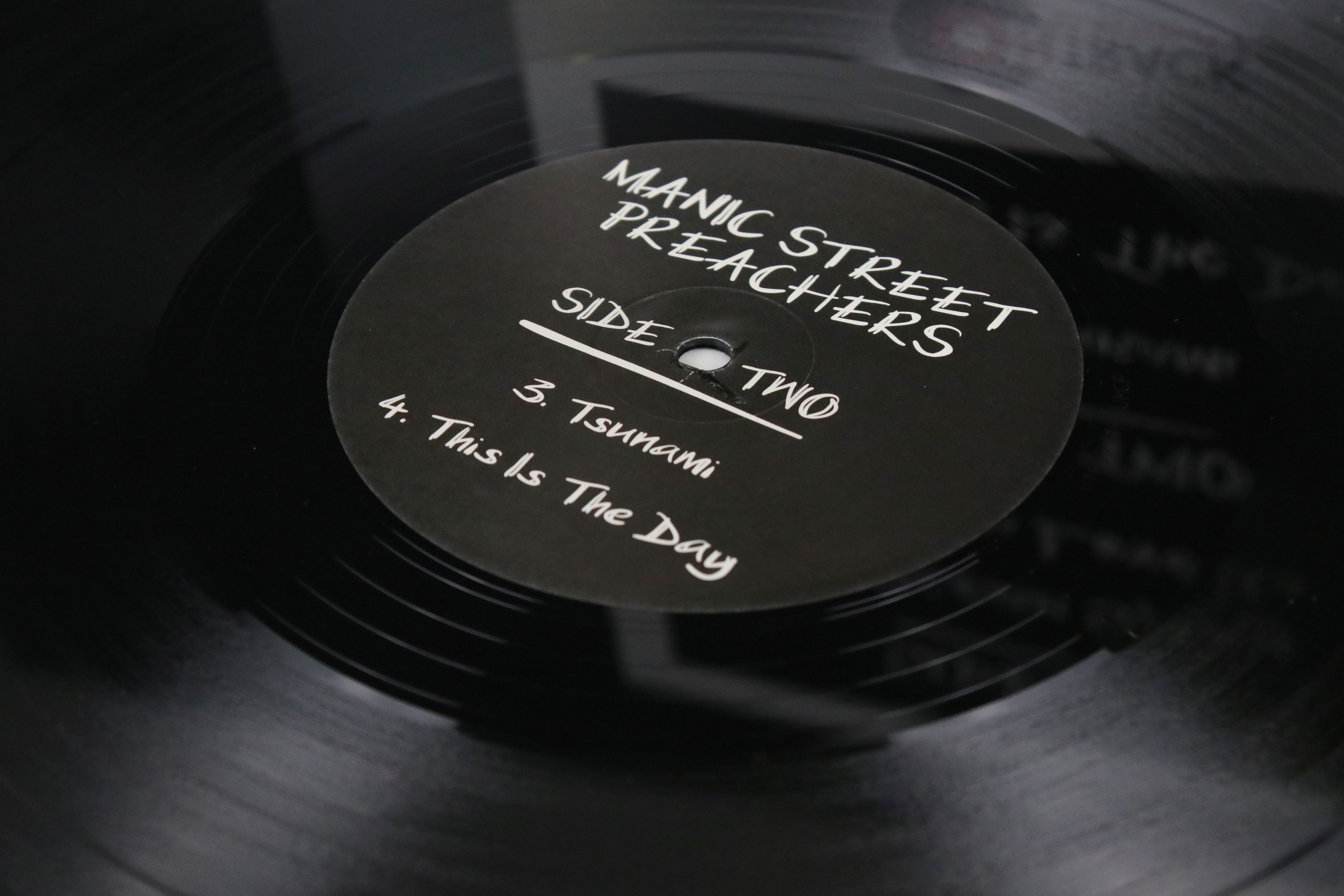 """Vinyl - Manic Street Preachers 'Memory Is The Greatest Gallery...' 12"""" single On Track with SEAT - Image 4 of 4"""
