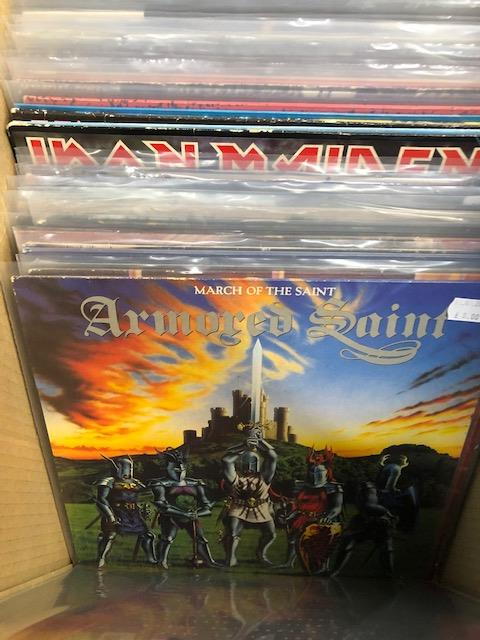 Vinyl - Approx 65 Rock & Metal LP's featuring KISS, Queen, Black Widow, Iron Maiden, AC/DC and more - Image 9 of 27