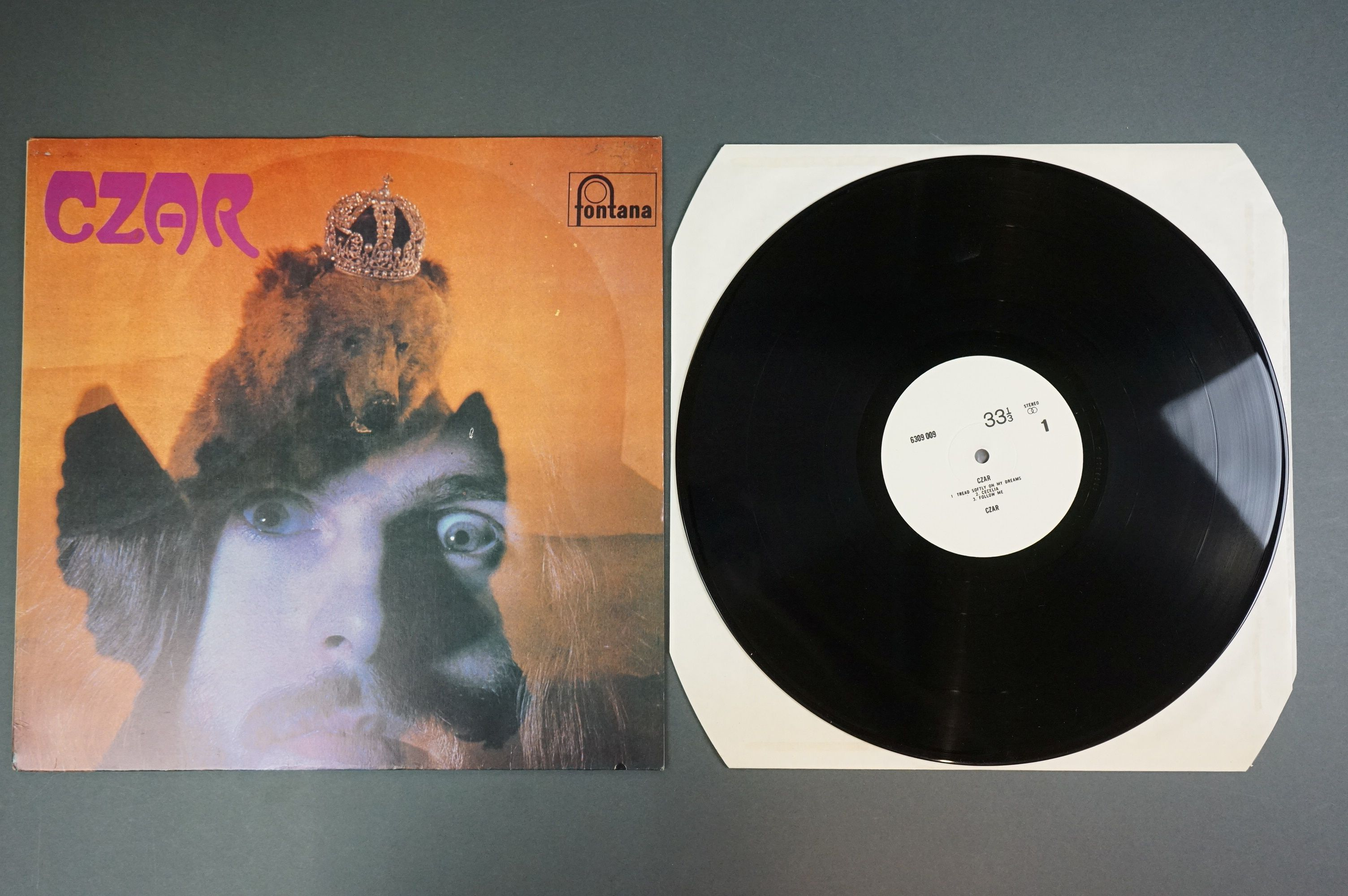 Vinyl - Czar self titled 6360009 unofficial release white album, with titles 33 and one third and - Image 2 of 3
