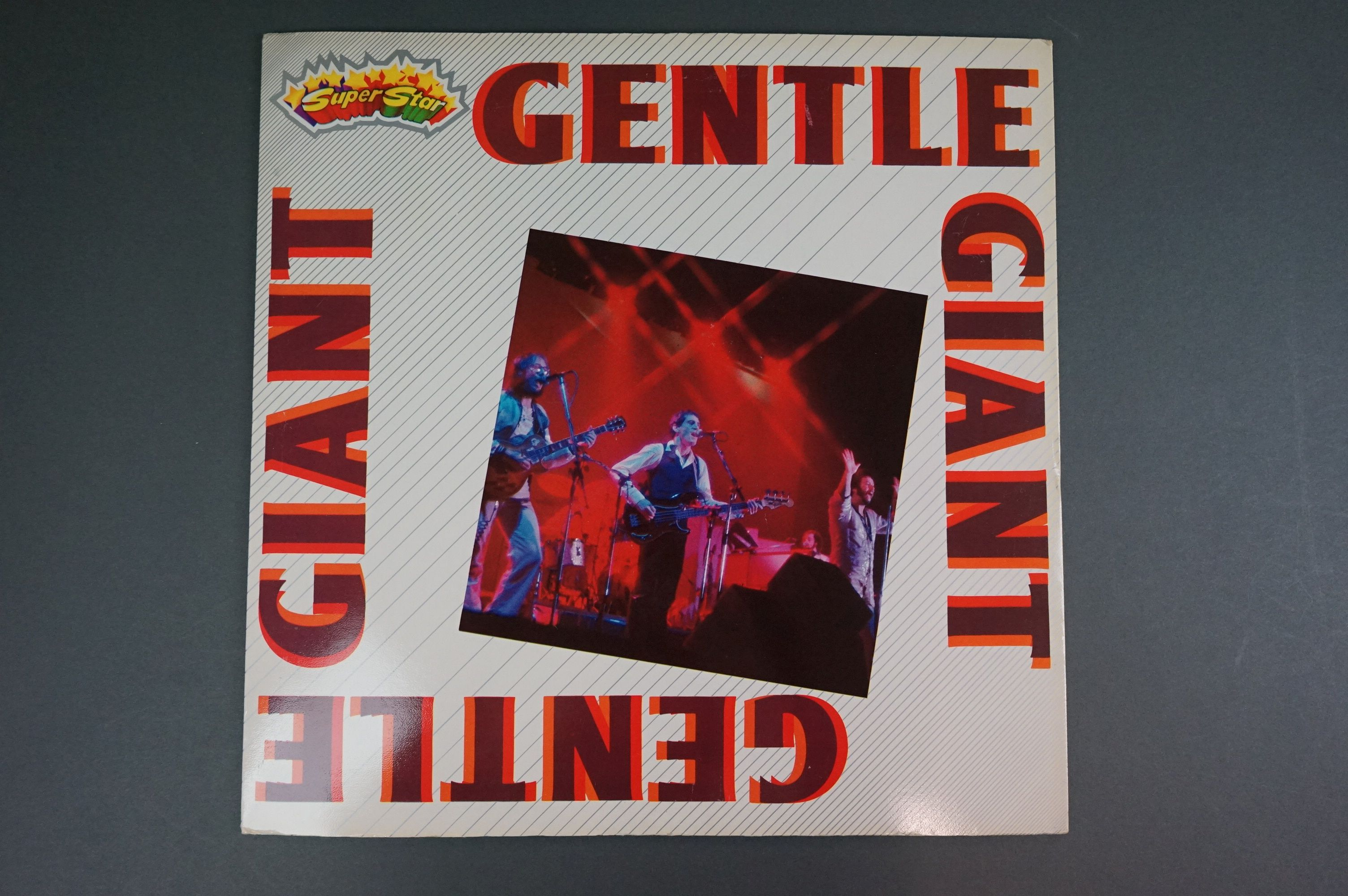 Vinyl - Two Gentle Giant LPs to include In A Glasshouse WWA002 Photograph card and printed inners, - Image 7 of 10