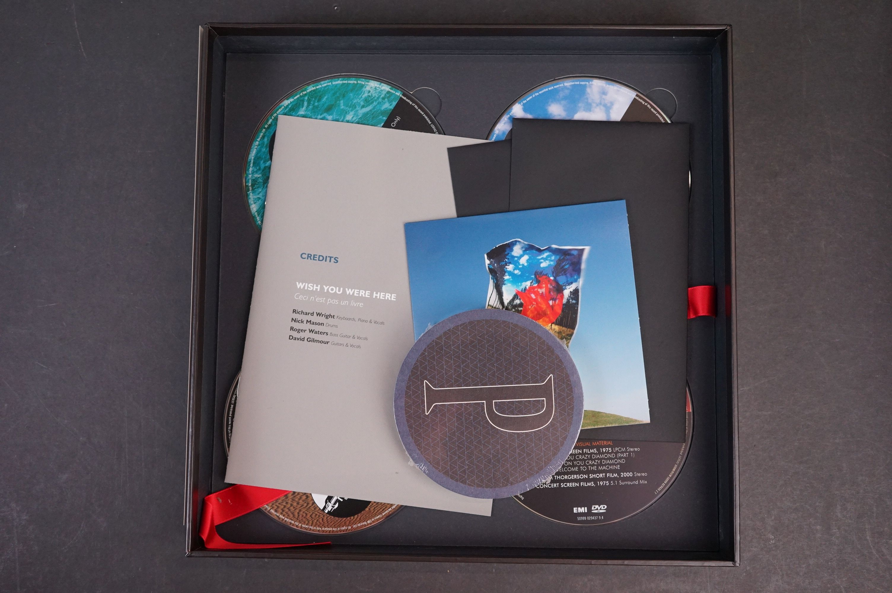 CD / DVD / Bluray - Pink Floyd Wish You Were Here 5 disc box set ex - Image 8 of 13