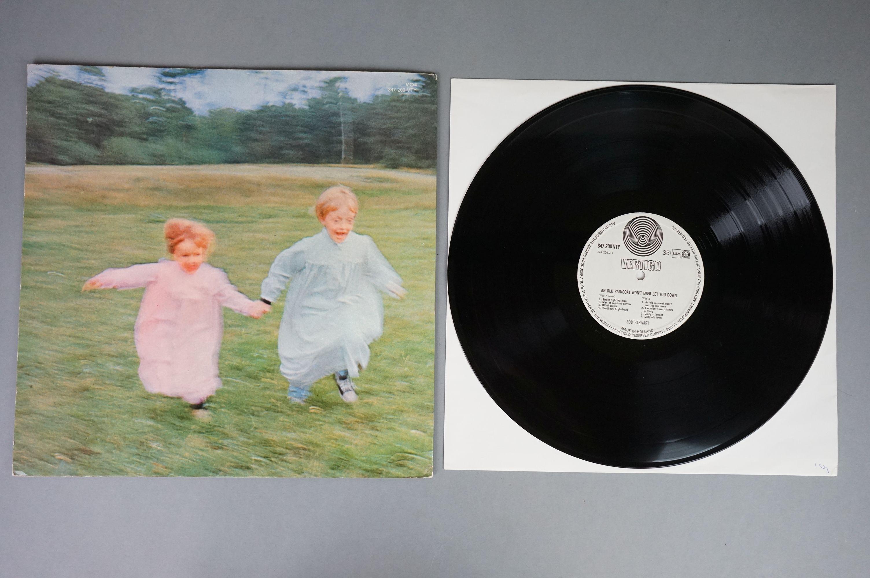 Vinyl - Rod Stewart 4 LP's to include An Old Raincoat Won't Ever Let You Down (Vertigo VO4) gatefold - Image 13 of 14