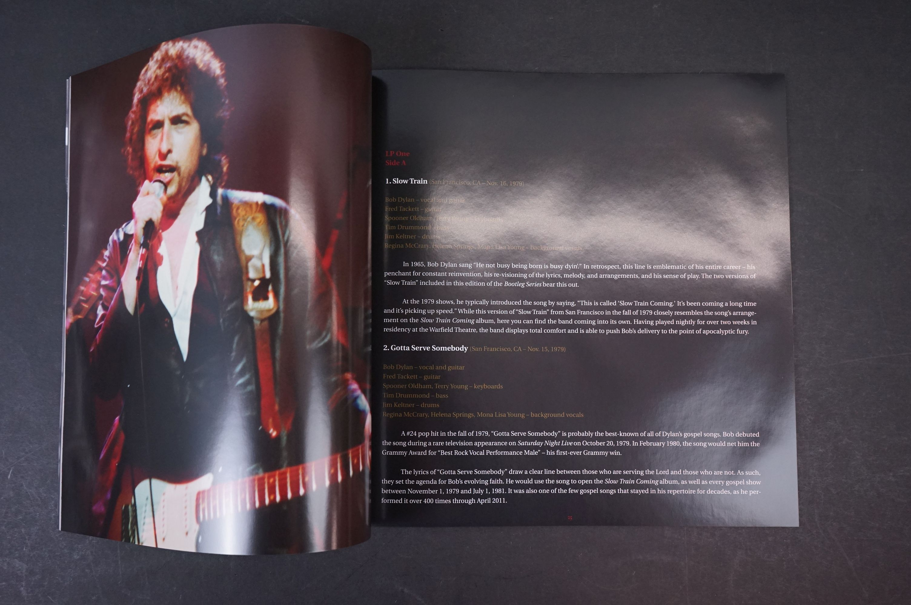 Vinyl - Bob Dylan Trouble No More The Bootleg Series vol 13 1979-1981 4 LP Box Set, ex - Image 3 of 9