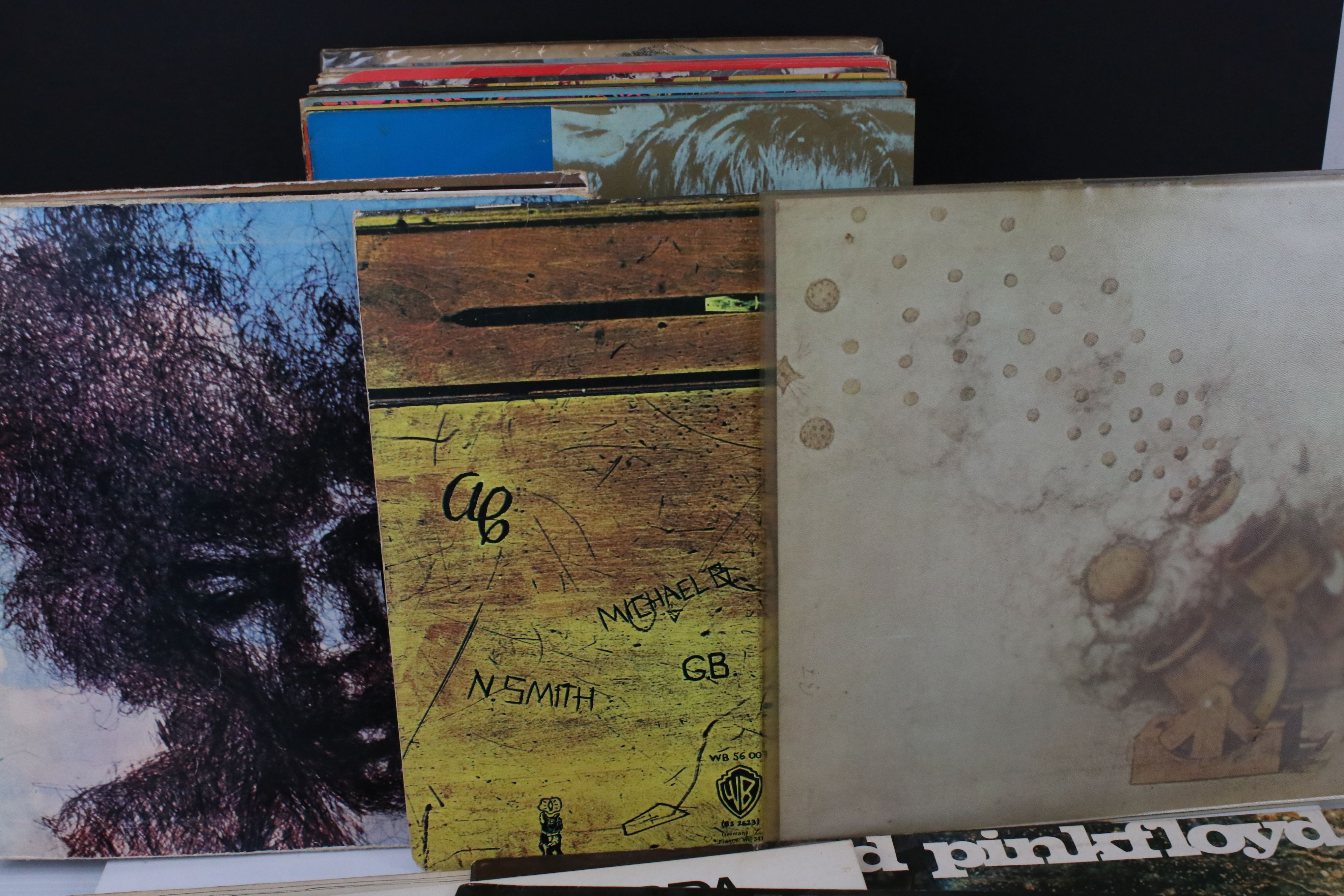 Vinyl - Collection of over 30 LP's mainly rock including Pink Floyd A Saucerful Of Secrets (SCX - Image 3 of 11