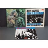Vinyl - Five John Mayall LPs to include Jazz Blues Fusion on Polydor 2425103, The Turning Point