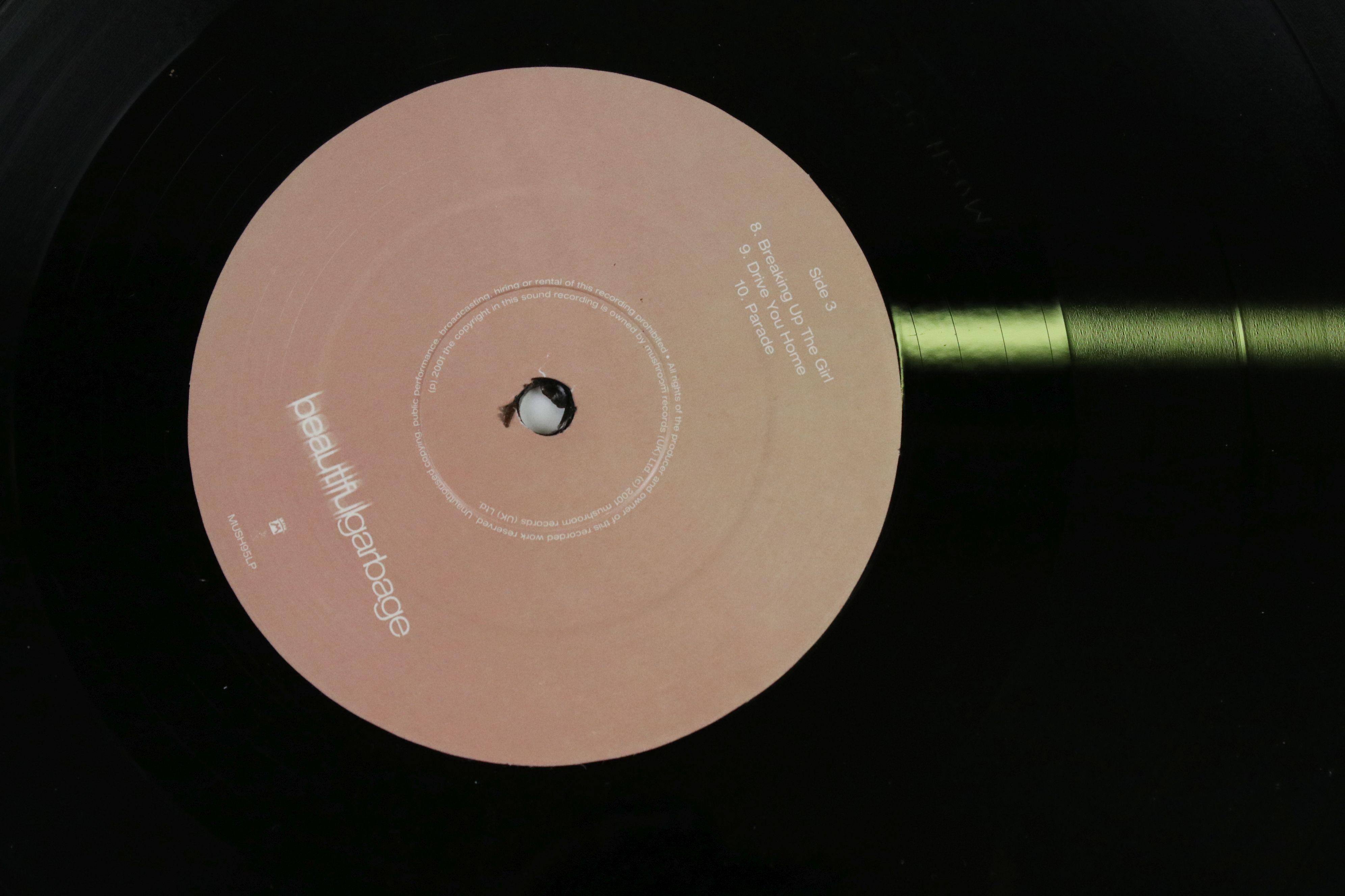 Vinyl - Garbage Beautiful Garbage Double LP on Mushroom MUSH95LP, with lyric inner, sleeve vg++, - Image 3 of 6