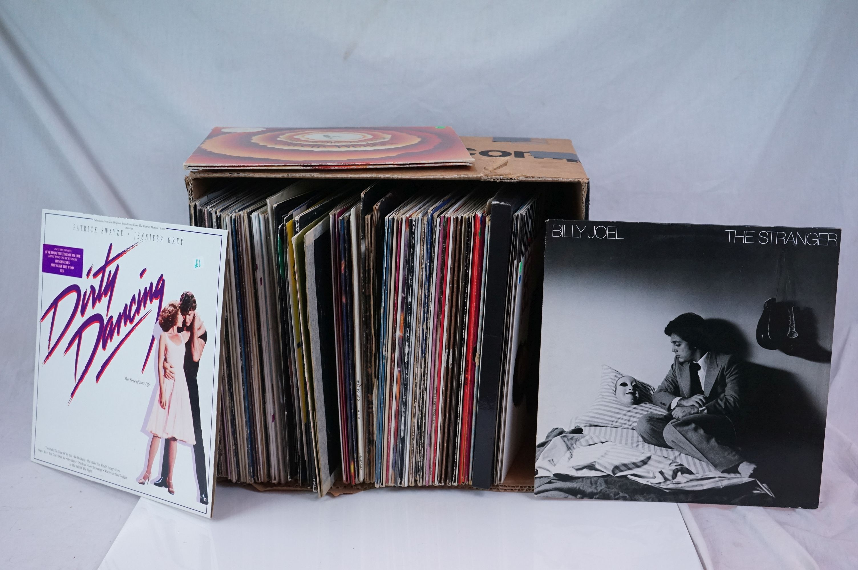 """Vinyl - Around 80 LPs and 12"""" single (mainly LPs) featuring Rock and Pop to include Blondie, Bon"""
