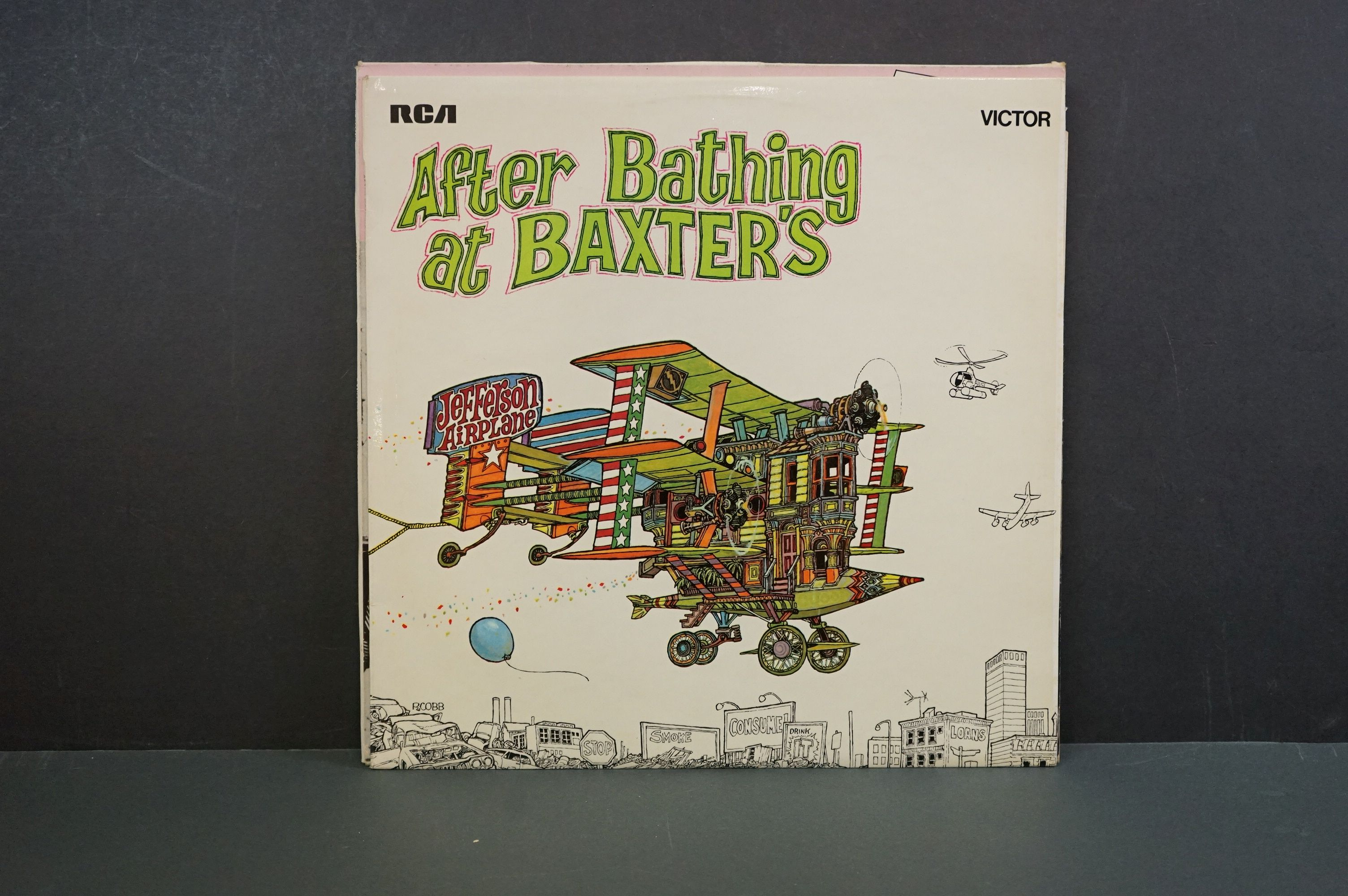 Vinyl - 10 Jefferson Airplane LPs to include Surrealistia Pillow / After Bathing at Baxter's (89301) - Image 13 of 16