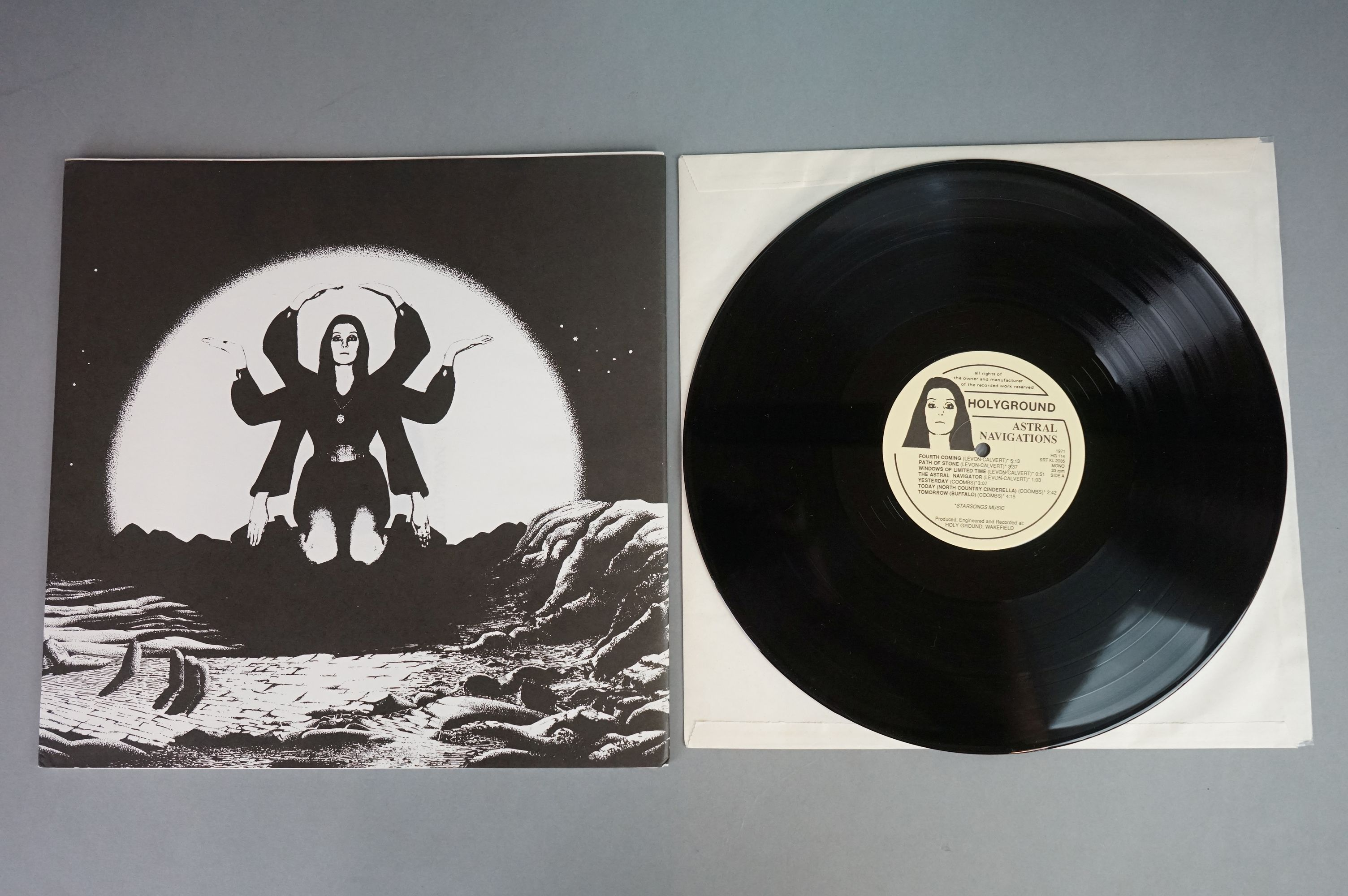 Vinyl - Lightyears Away / Thundermother ?? Astral Navigations (HG 114) numbered Ltd Edition - Image 3 of 12