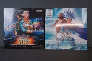 Vinyl - Two Empire of The Sun LPs to include Walking on a Dream (sealed with slight split) and Ice
