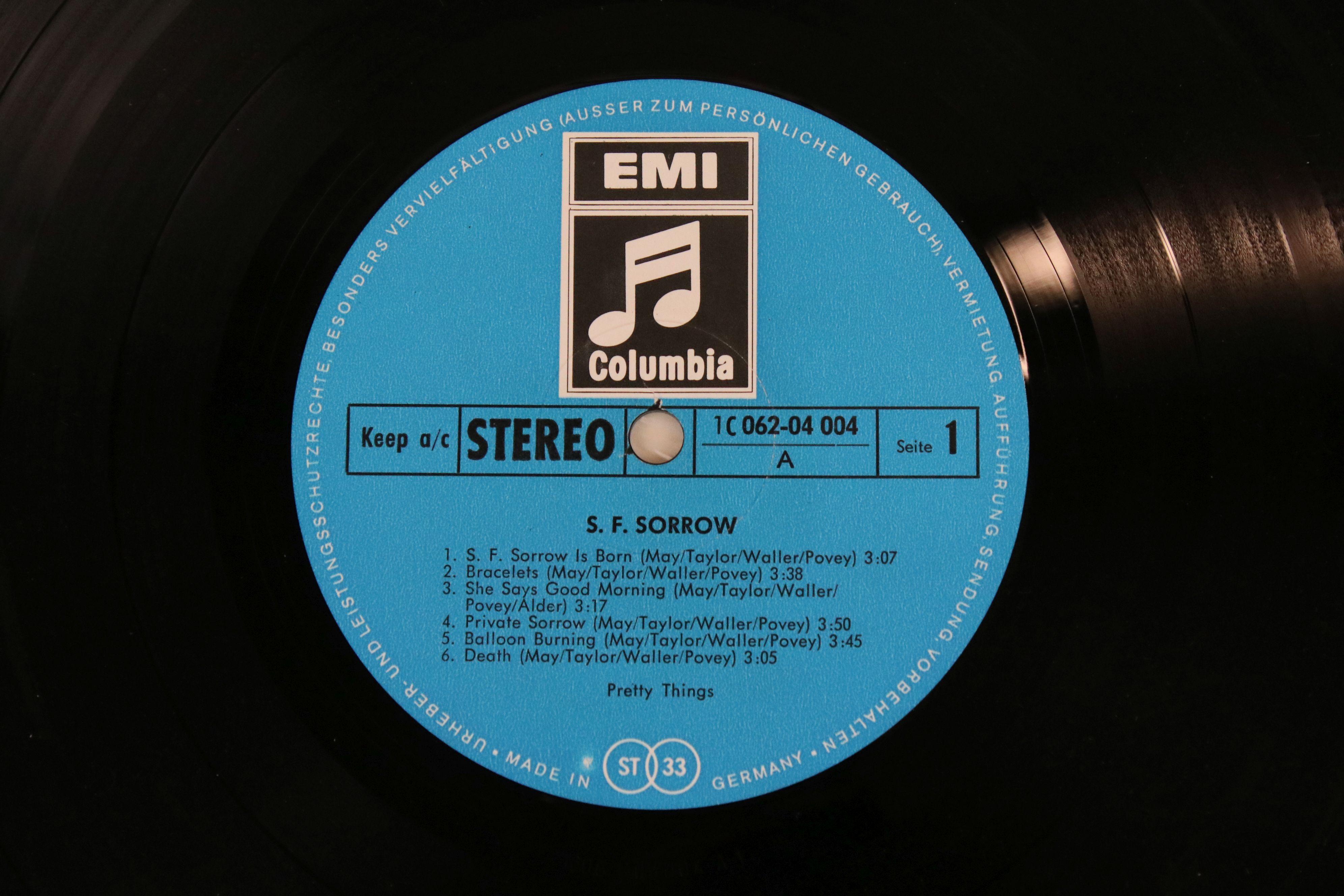 Vinyl - Pretty Things SF Sorrow LP on Columbia IC06204004 German pressing, gatefold sleeve, sleeve - Image 2 of 5