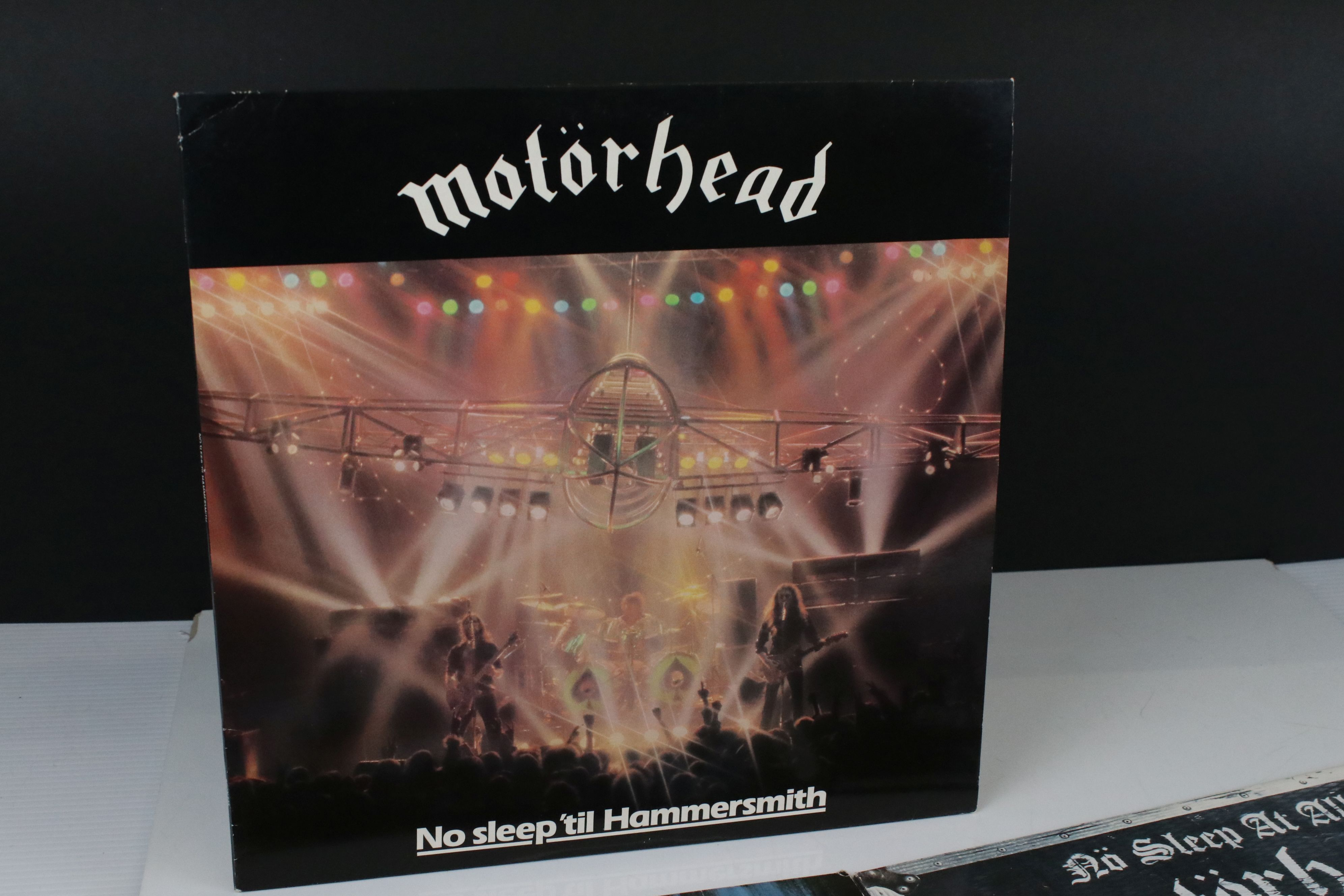 Vinyl - Motorhead 7 LP's to include Self Titled (WLK 2), No Sleep At All (GWLP31), Rock N Roll ( - Image 5 of 5