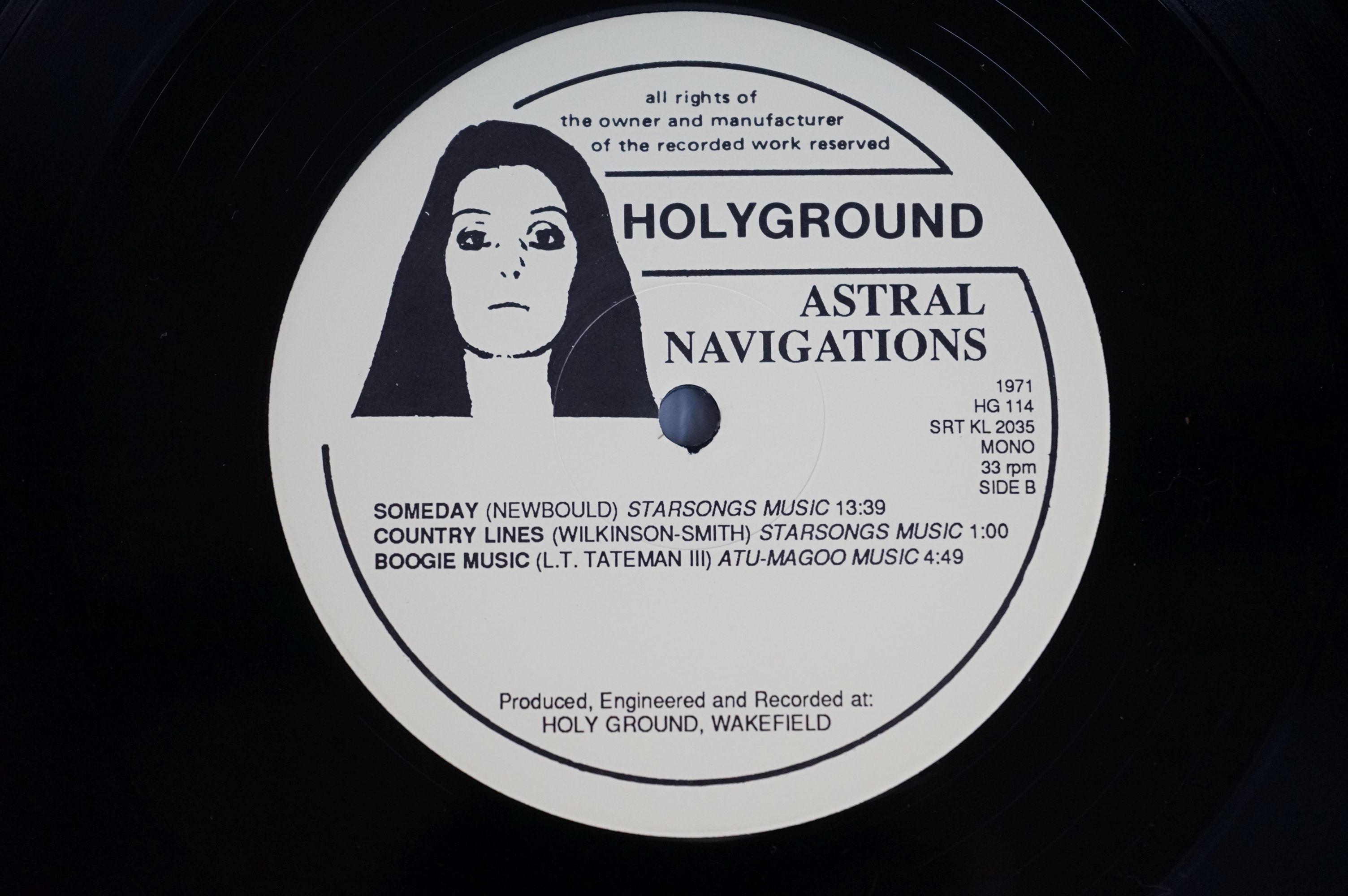 Vinyl - Lightyears Away / Thundermother ?? Astral Navigations (HG 114) numbered Ltd Edition - Image 5 of 12