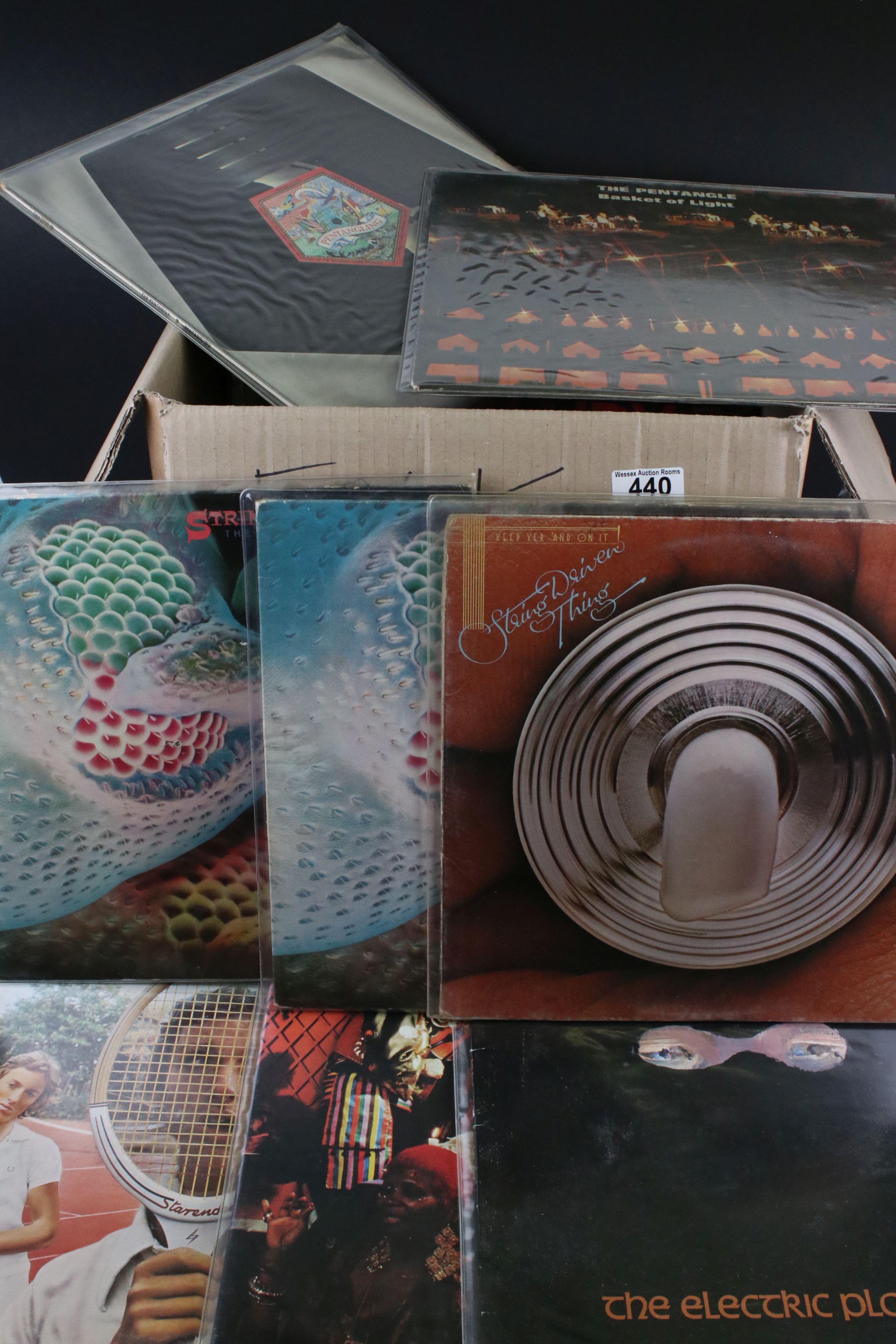 Vinyl - Around 30 Folk LPs to include The Strawbs, Pentangle, Richard & Linda Thompson, Fairport
