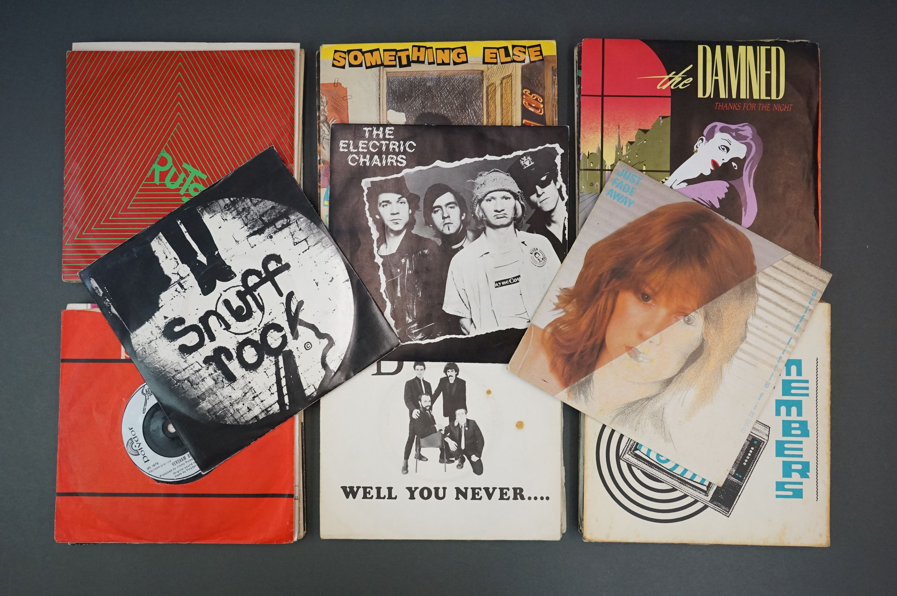 Vinyl - Approx 39 first generation punk singles including The Clash x 8, The Buzzcocks x 7, - Image 8 of 8