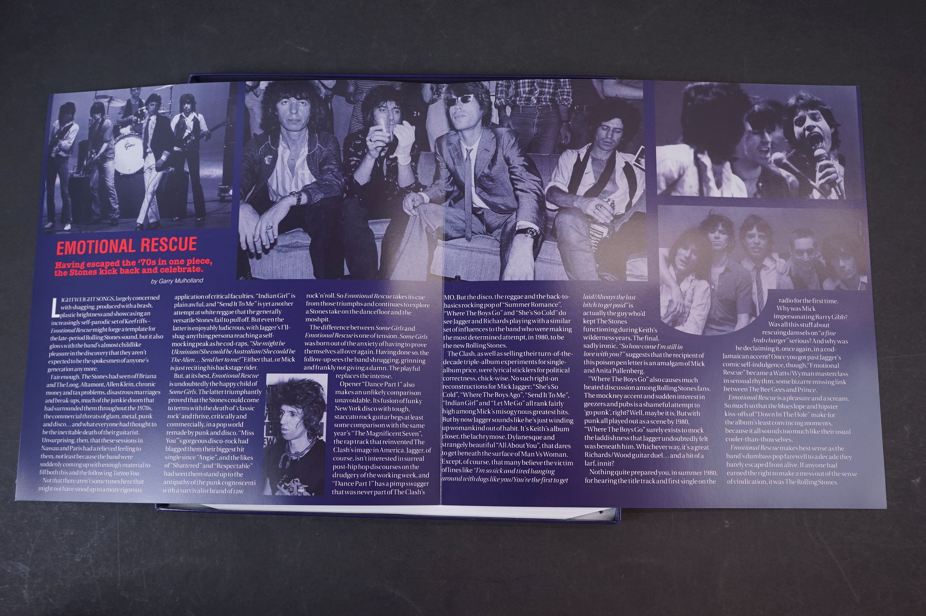 Vinyl - ltd edn The Real Alternate Album Rolling Stones Emotional Rescue 4 LP / 2 CD Box Set, - Image 4 of 12