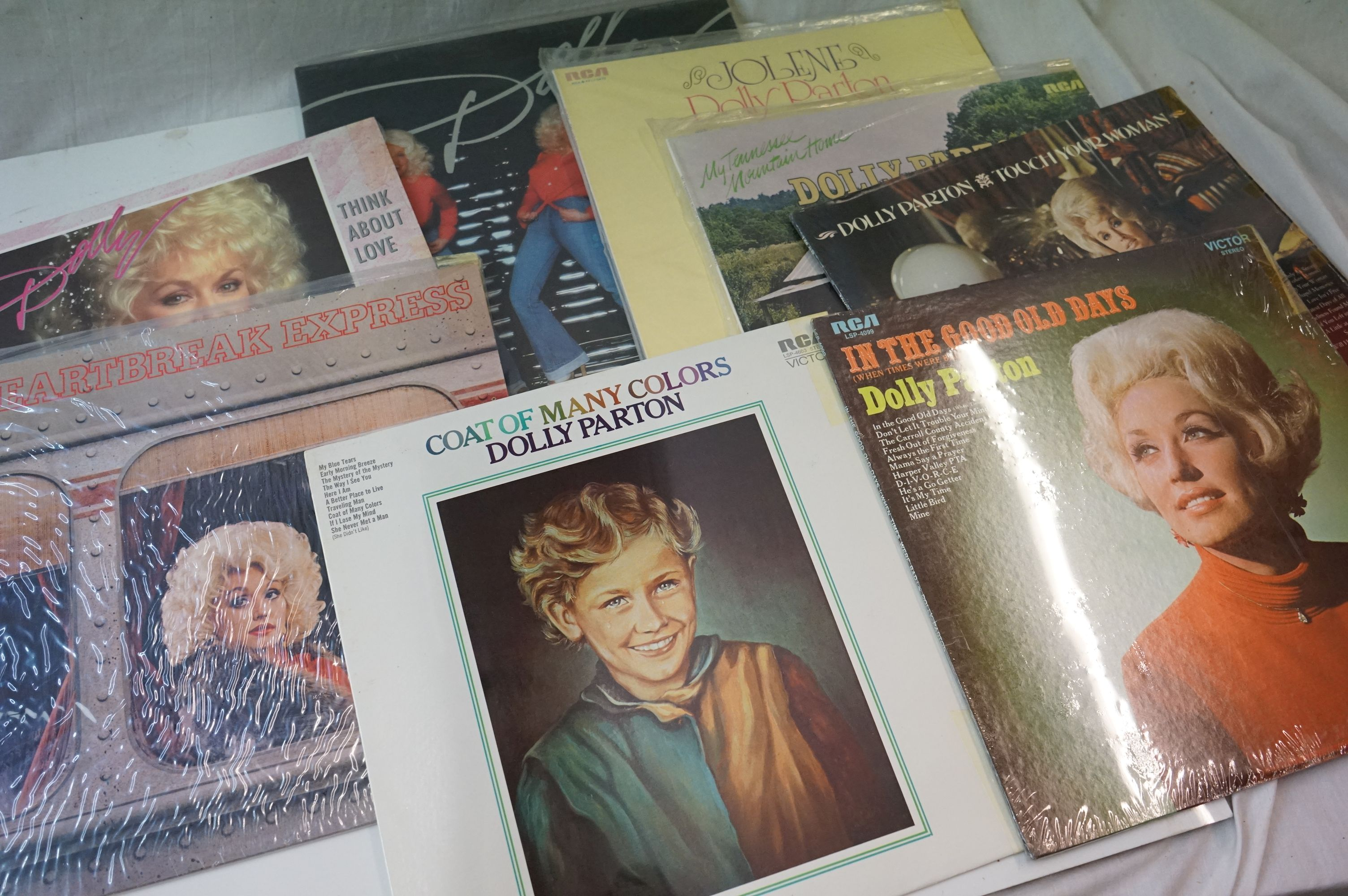 Vinyl - 220 LPs to include Pop, Rock, Easy Listening etc, sleeves and vinyl vg+ (two boxes) - Image 2 of 5