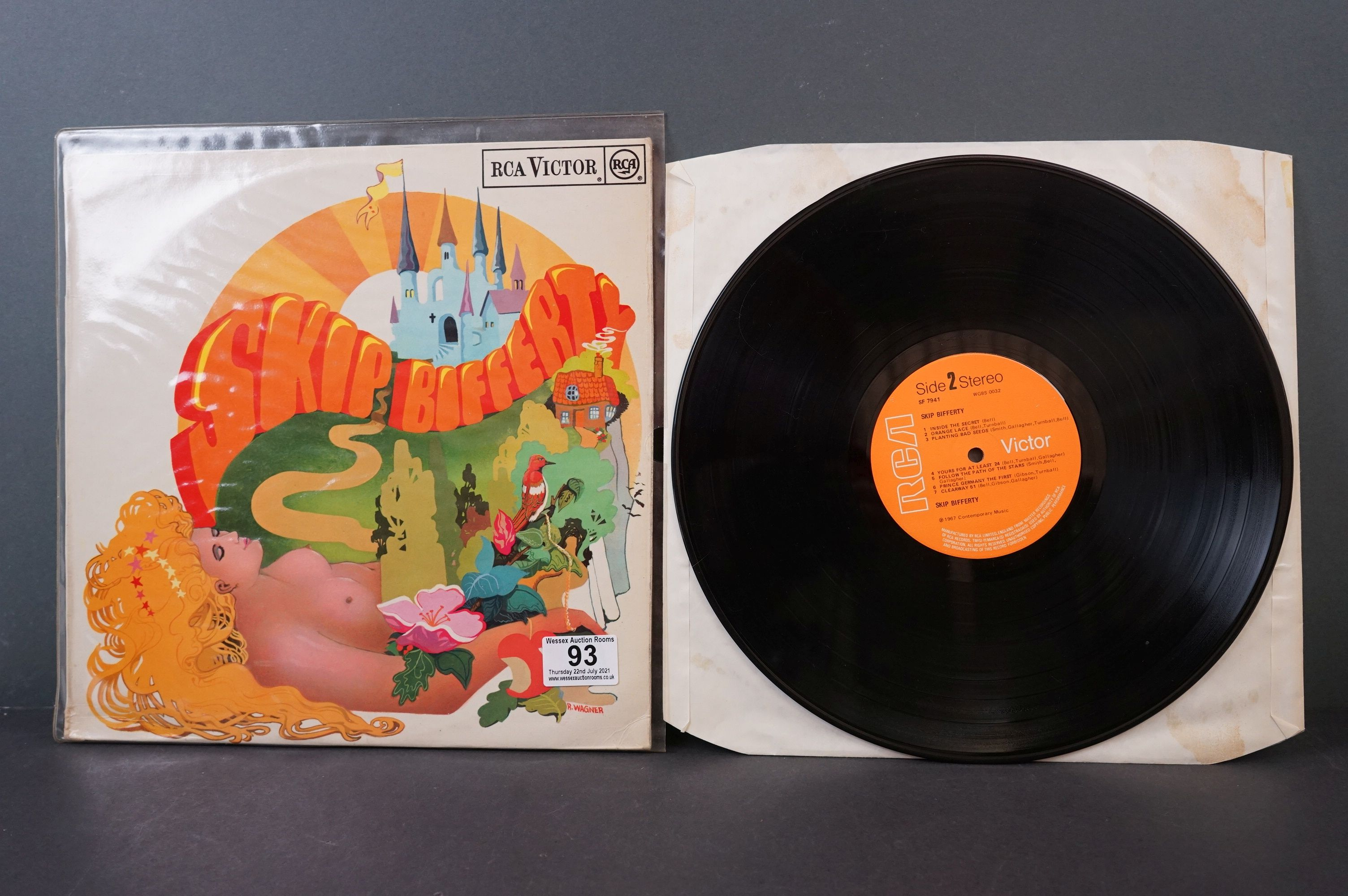 Vinyl - Psych - Skip Bifferty - Skip Bifferty (1968 UK, RCA Records, Orange labels, Stereo Copy) vg+ - Image 2 of 3