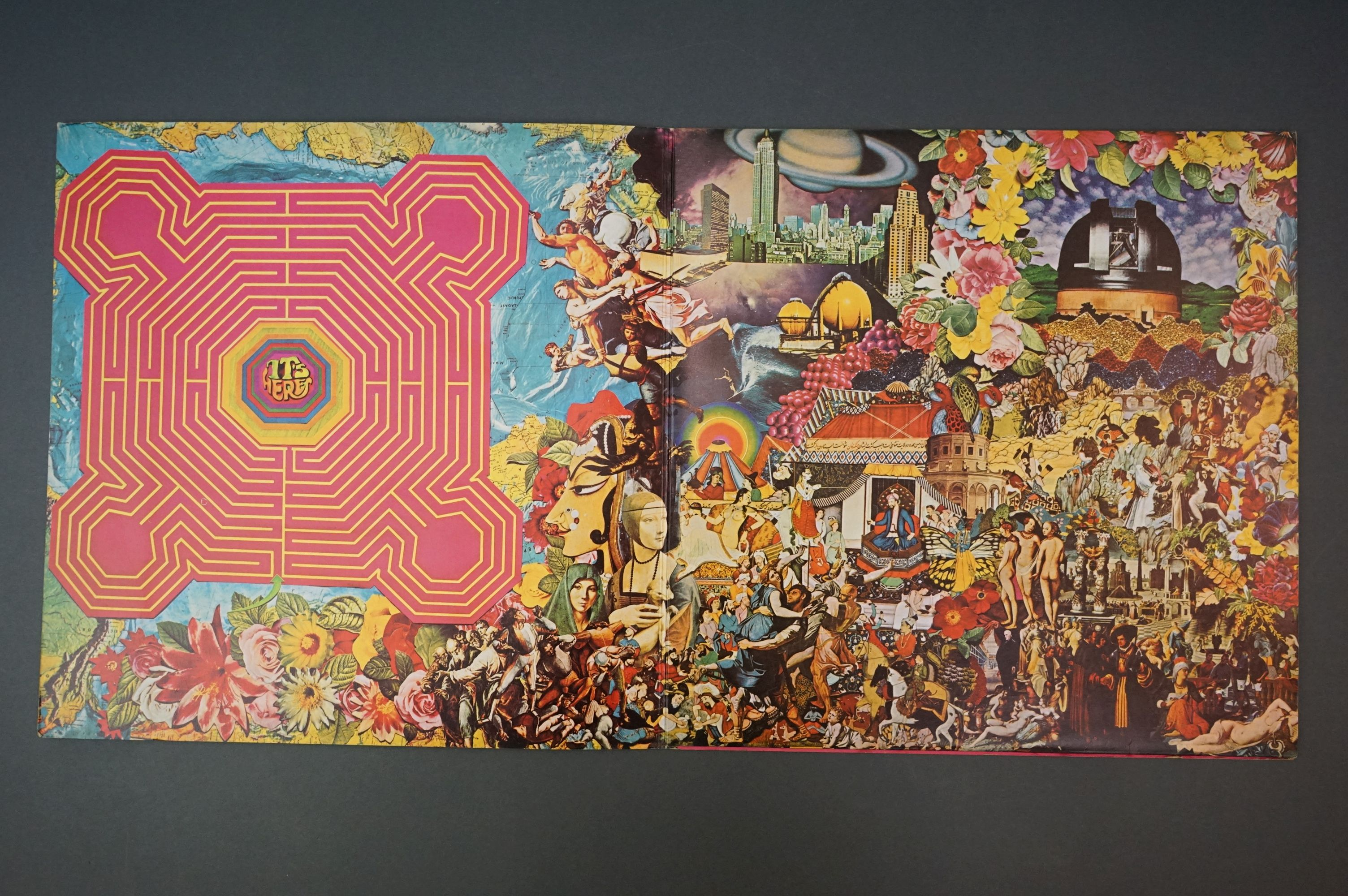 Vinyl - The Rolling Stones Their Satanic Majesties Request TXS103, Decca unboxed green stereo label, - Image 2 of 7