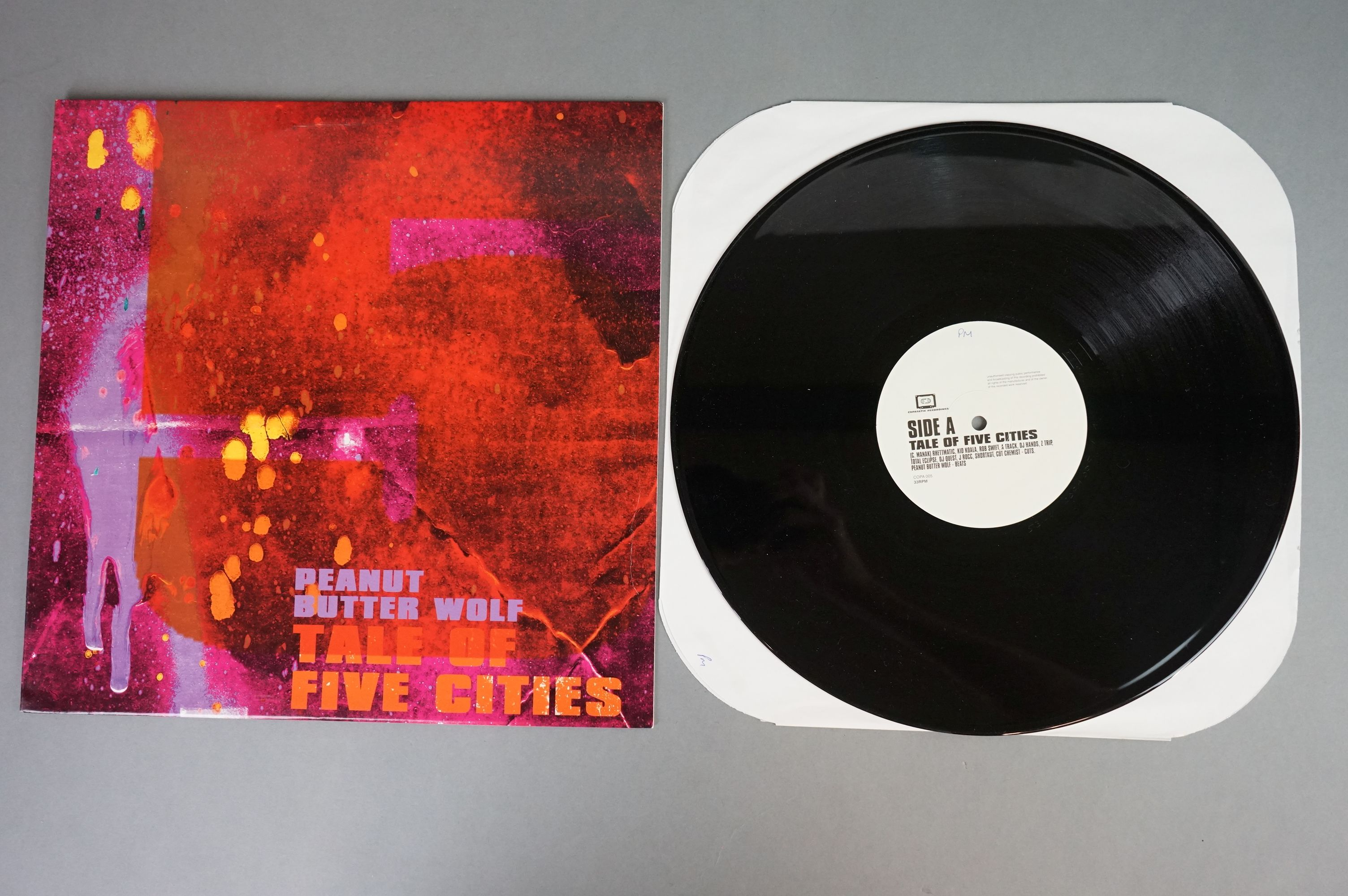 """Vinyl - Slurped Too! 2LP Compilation and 3 x Peanut Butter Wolf 12"""" singles to include Run The - Image 7 of 11"""