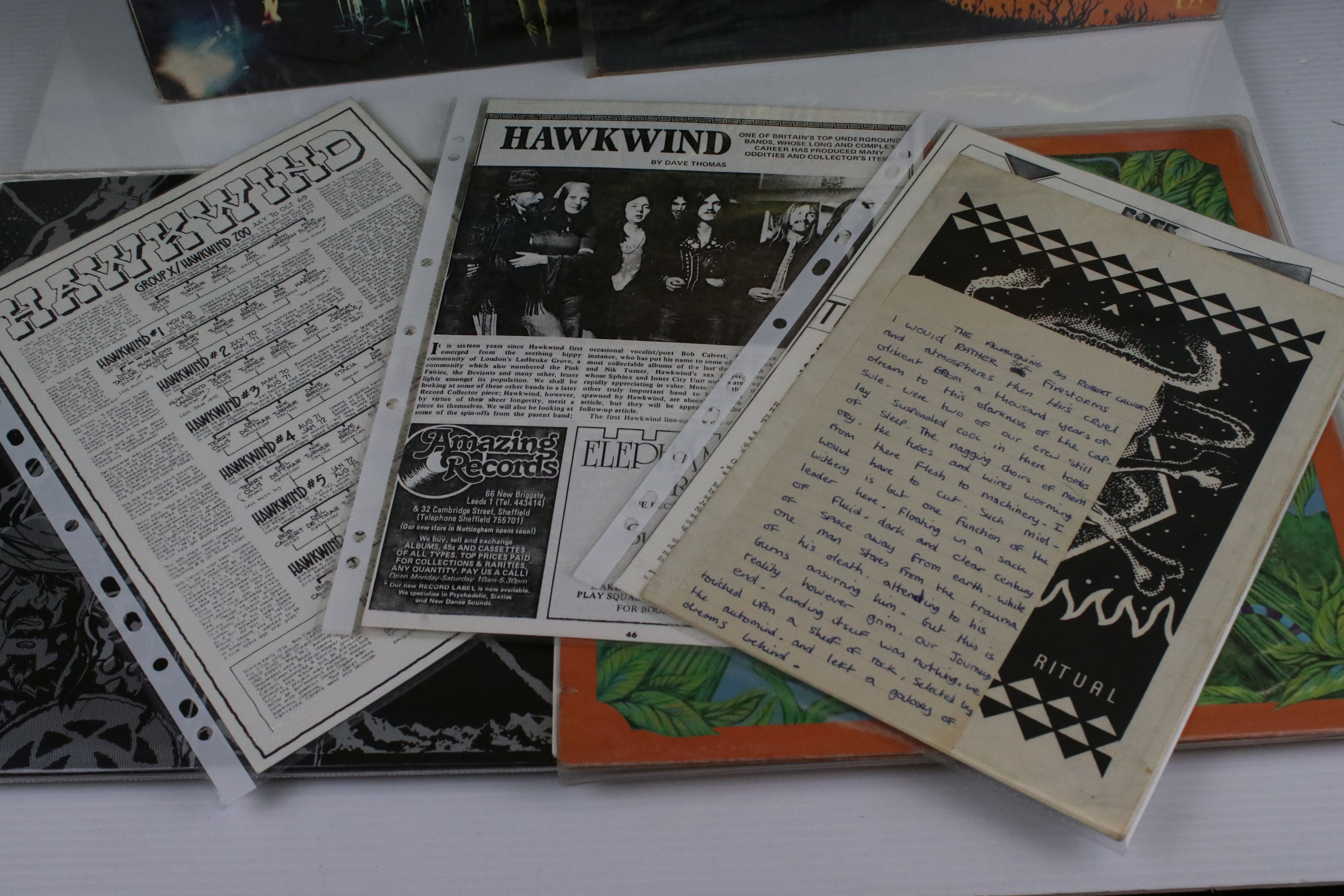 Vinyl - Four Hawkwind LPs to include self titled (LBS83348) gatefold sleeve, black Liberty label, - Image 3 of 3