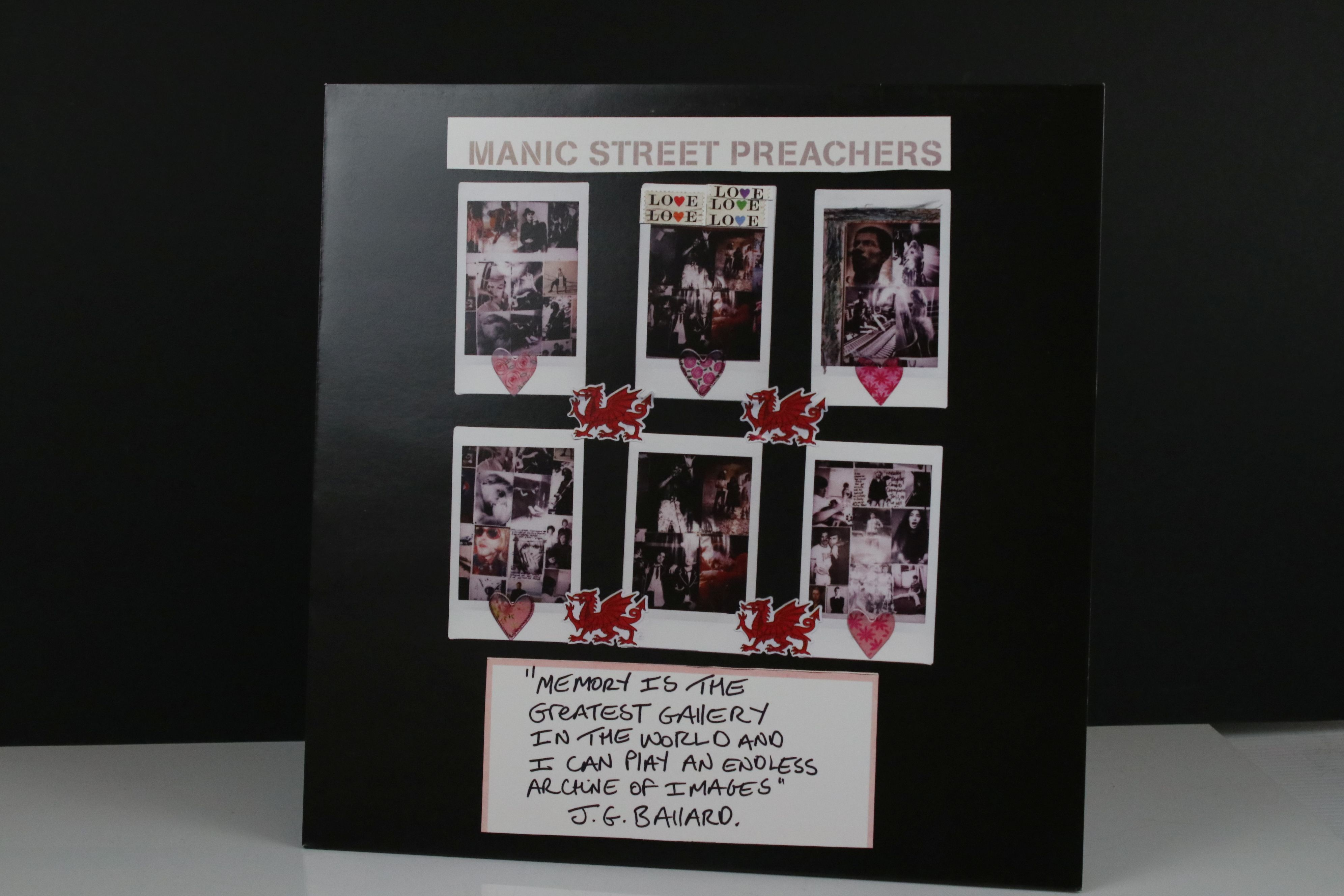 """Vinyl - Manic Street Preachers 'Memory Is The Greatest Gallery...' 12"""" single On Track with SEAT"""