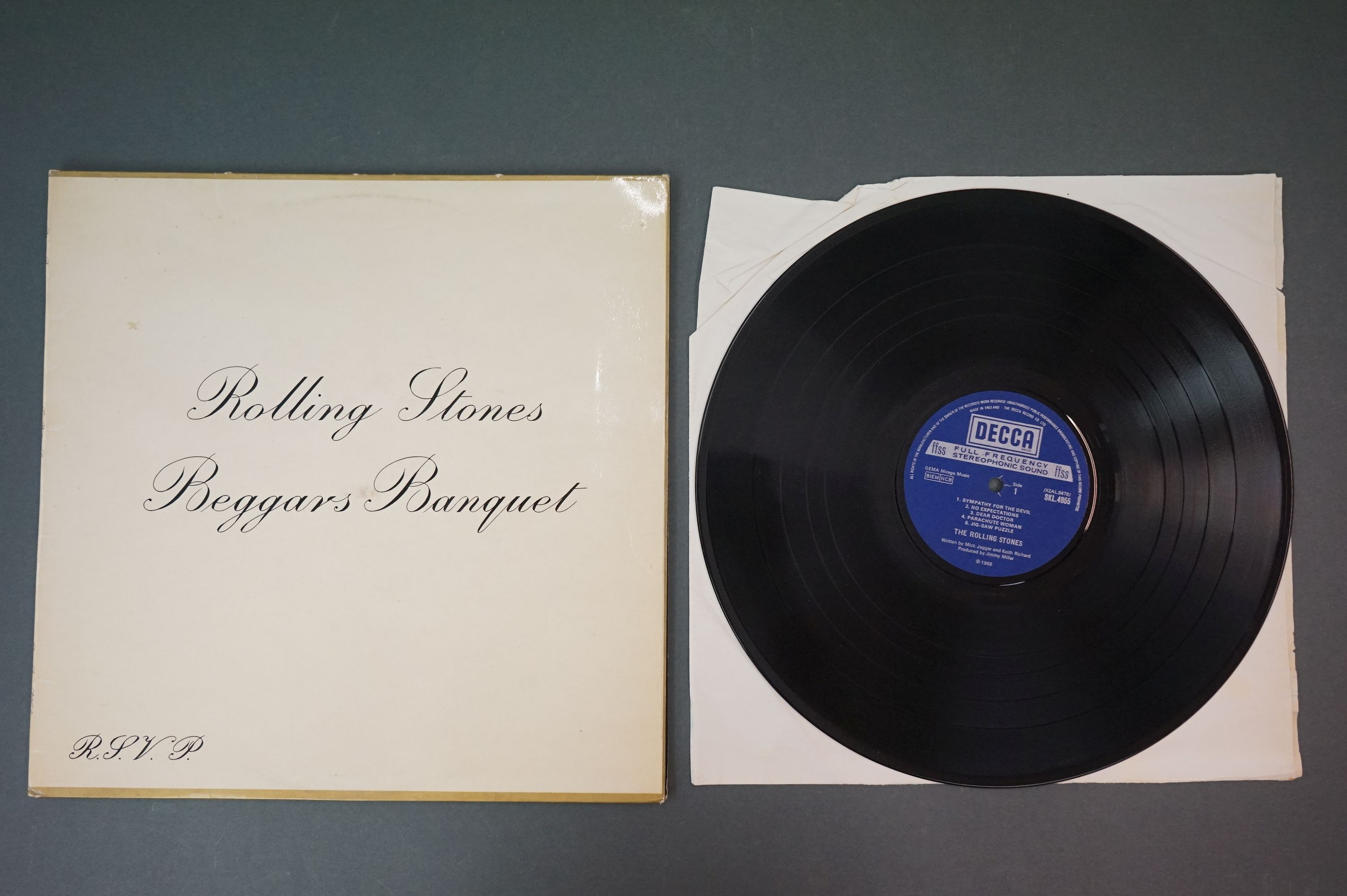 Vinyl - Rolling Stones 3 LP's to include Rolled Gold and Self Titled (both Dutch pressings), and - Image 6 of 10