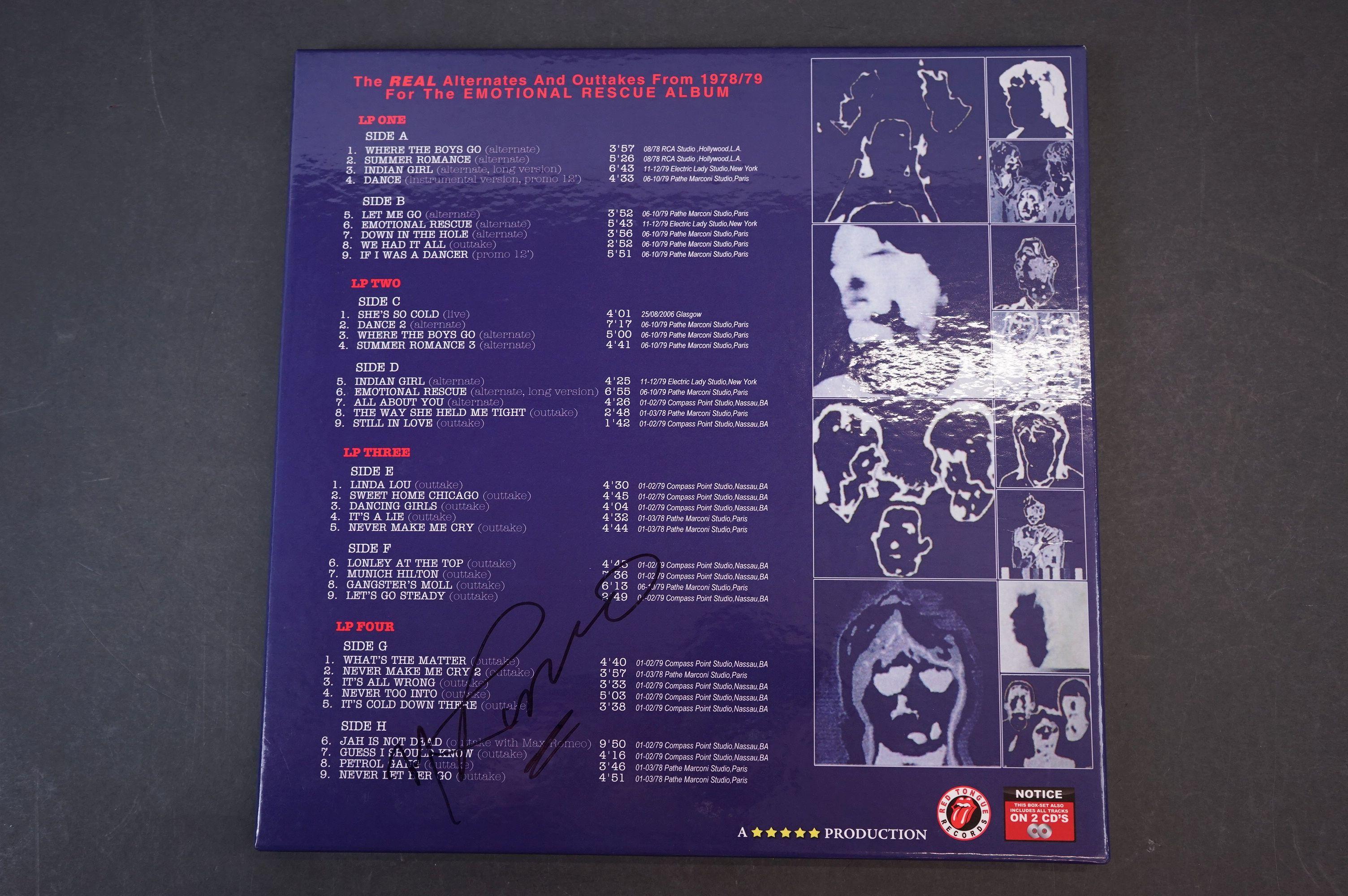 Vinyl - ltd edn The Real Alternate Album Rolling Stones Emotional Rescue 4 LP / 2 CD Box Set, - Image 10 of 12