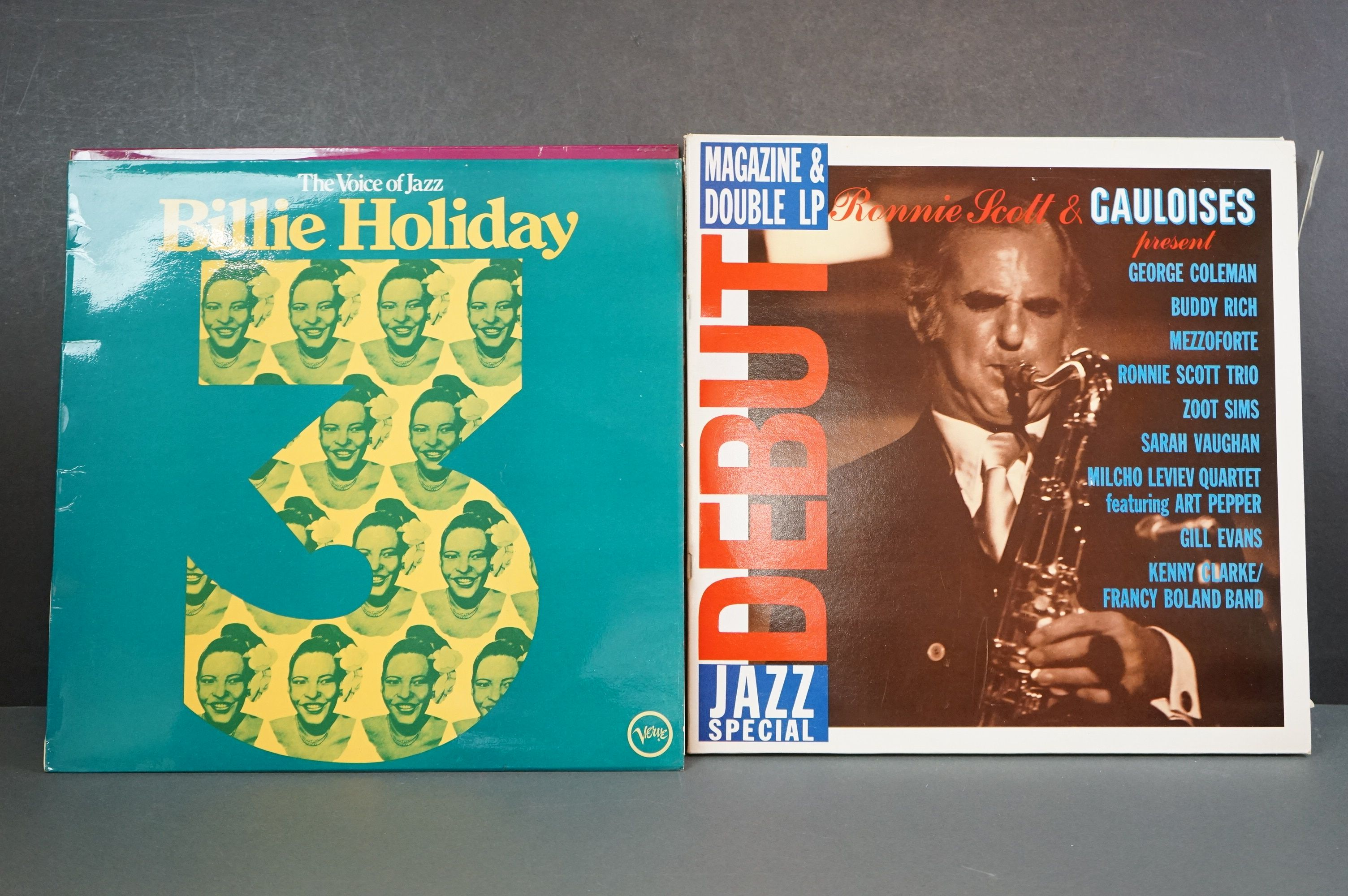 Vinyl - Around 30 Jazz LPs to include Woody Shaw, Ken Collyer, Billie Holiday, Milt Jackson, - Image 18 of 18