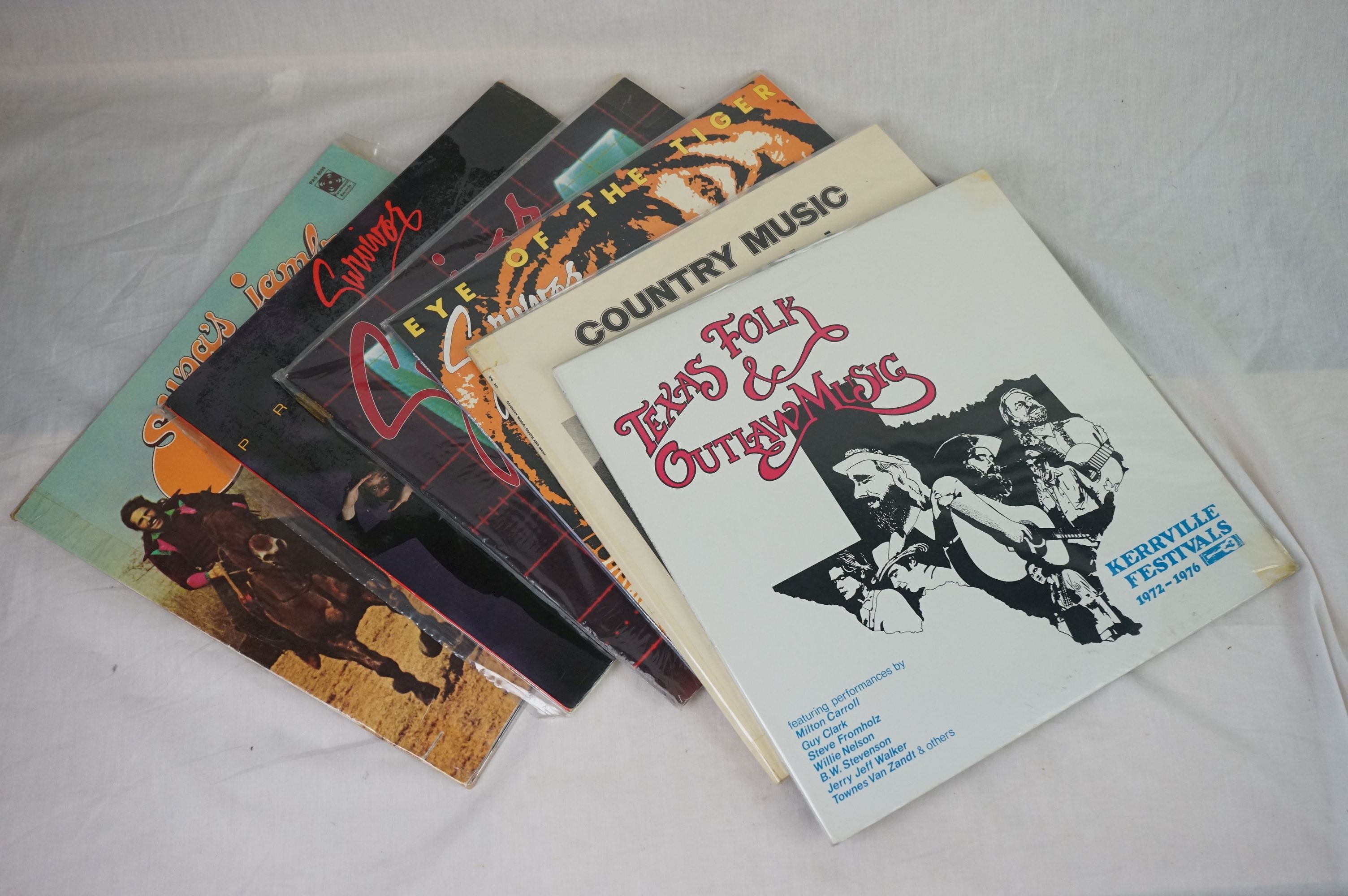 Vinyl - Around 200 LPs to include Country, Rock n Roll, Rockabilly, Compilations etc, sleeves and - Image 3 of 3