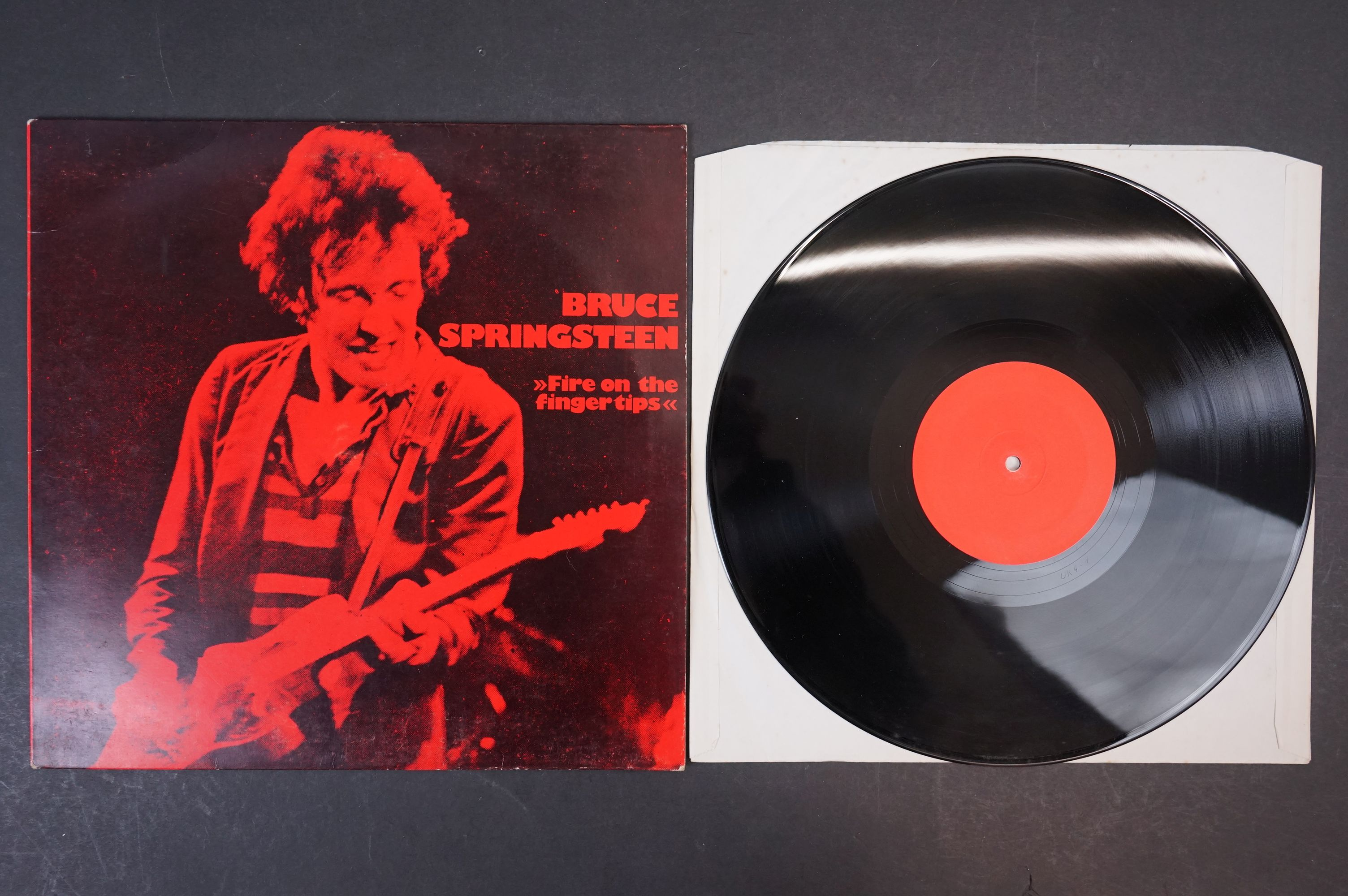 Vinyl - Bruce Springsteen - 2 Rare Private Pressing Live albums: ?Fire On The Finger Tips? 1978, - Image 5 of 6