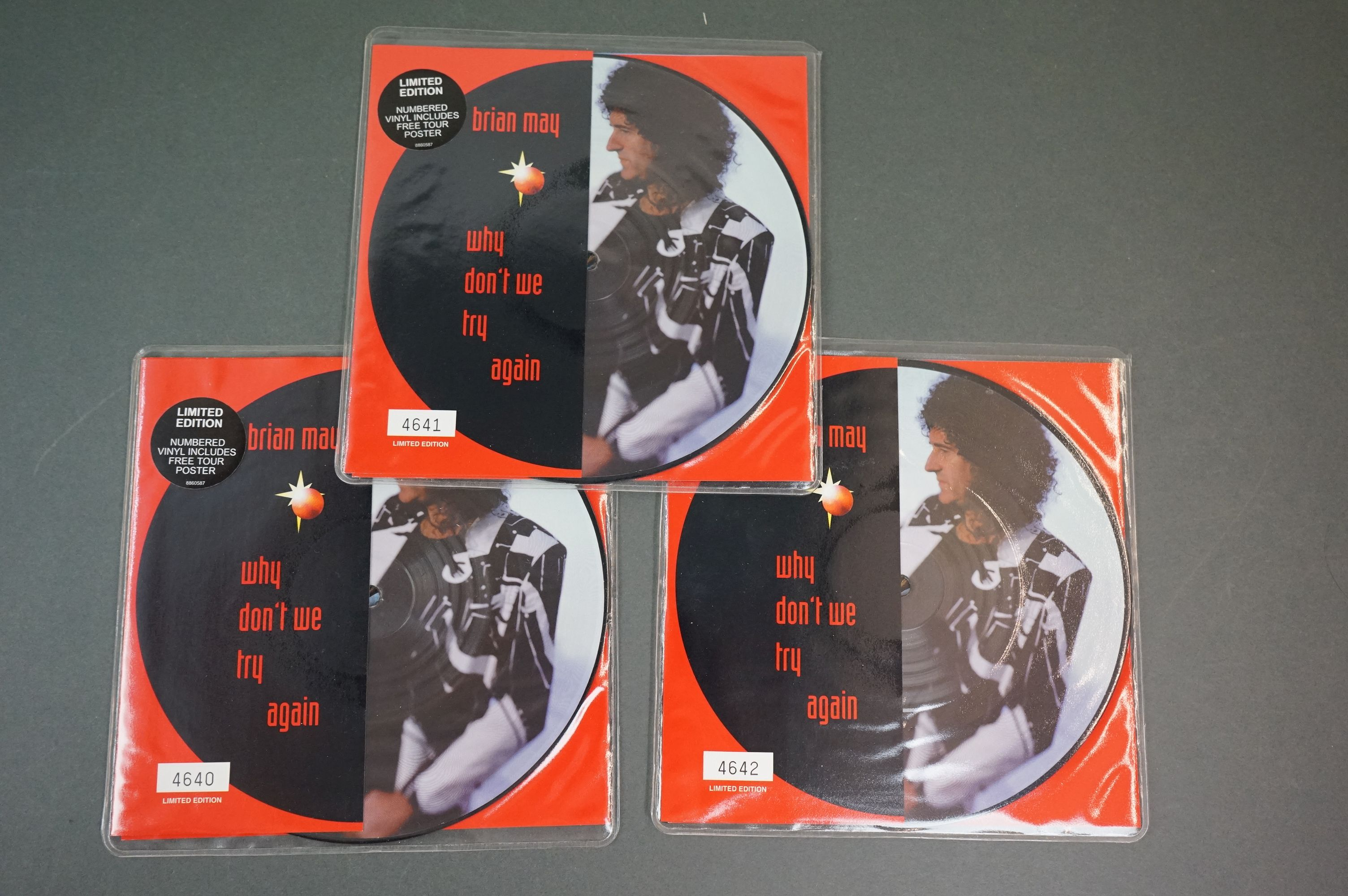 Vinyl - Queen & related collection of 7 inch singles including 12 x No One But You Ltd Edn picture - Image 4 of 11