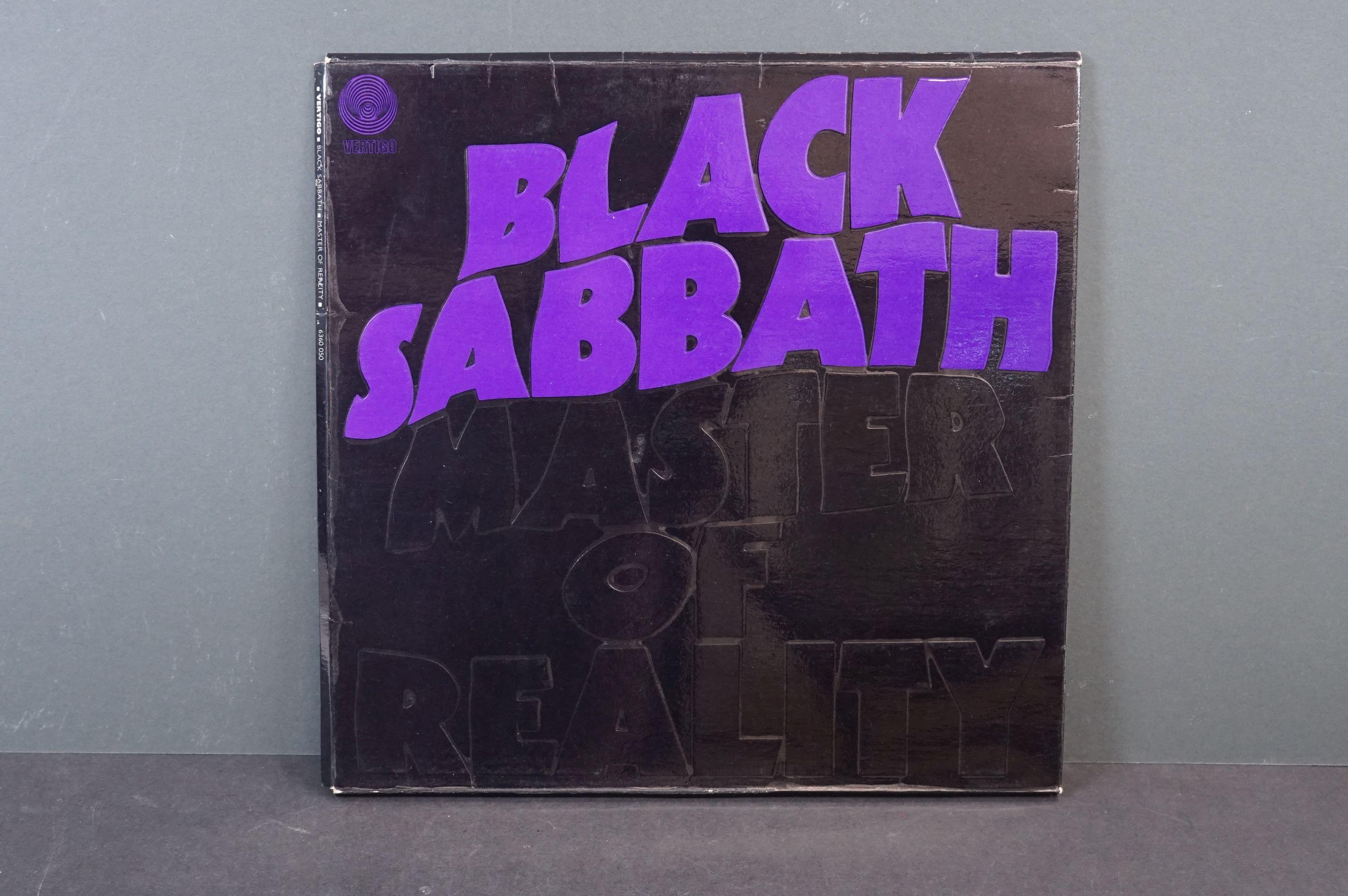 Vinyl - Black Sabbath - Master Of Reality. Original UK 1971 1st Black label, Swirl Vertigo label