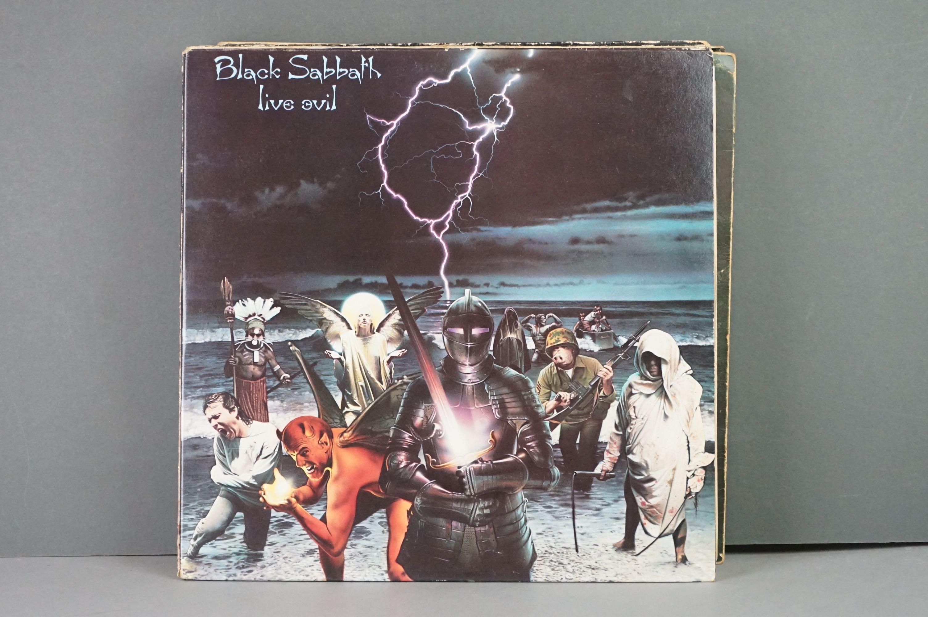 Vinyl - Twelve Black Sabbath vinyl LP's to include Technical Ecstasy (Vertigo Records PRICE 40), - Image 3 of 17