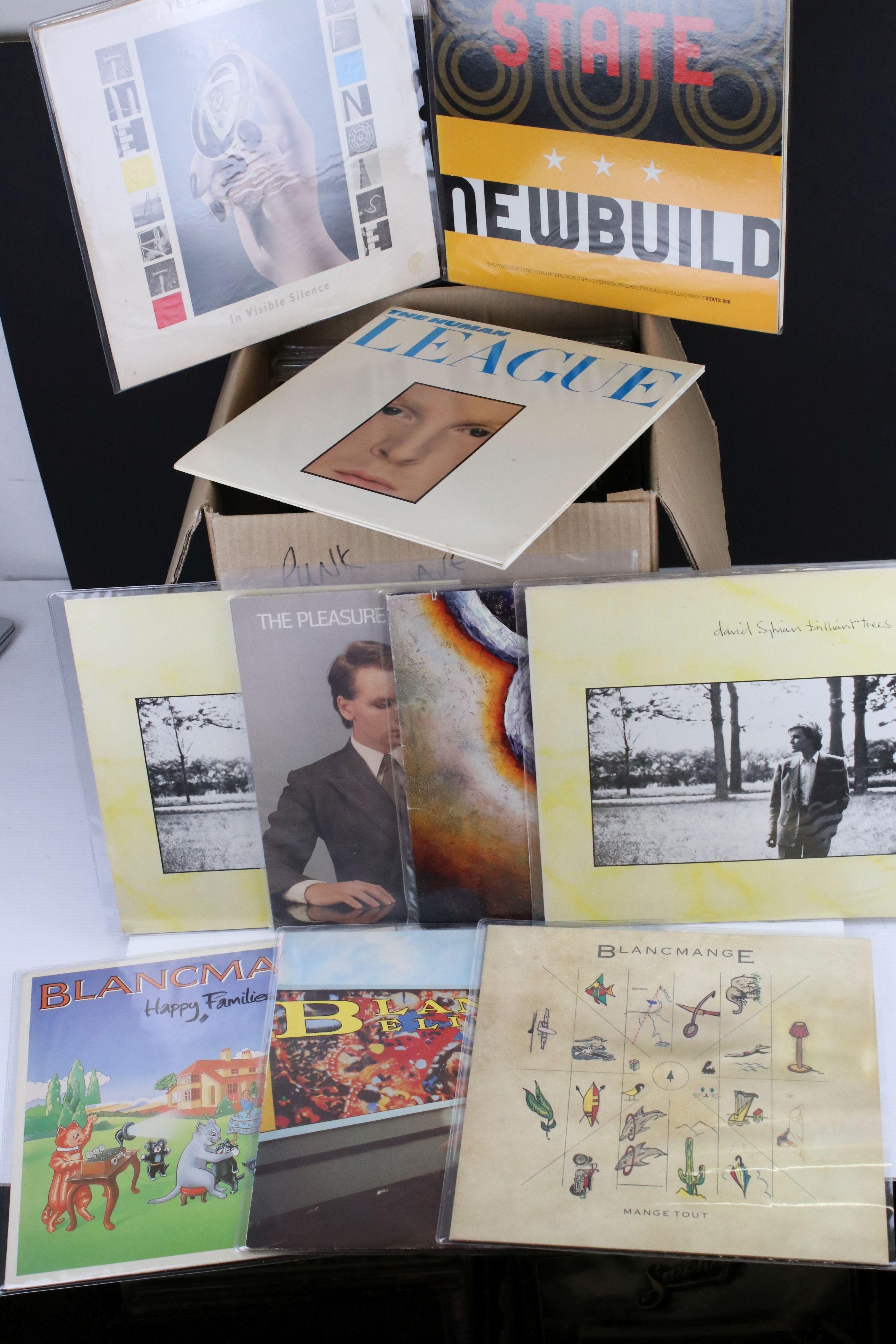 Vinyl - Around 24 Punk, New Wave, Indie LPs to include Gary Numan, Republicas, Blancmange etc,