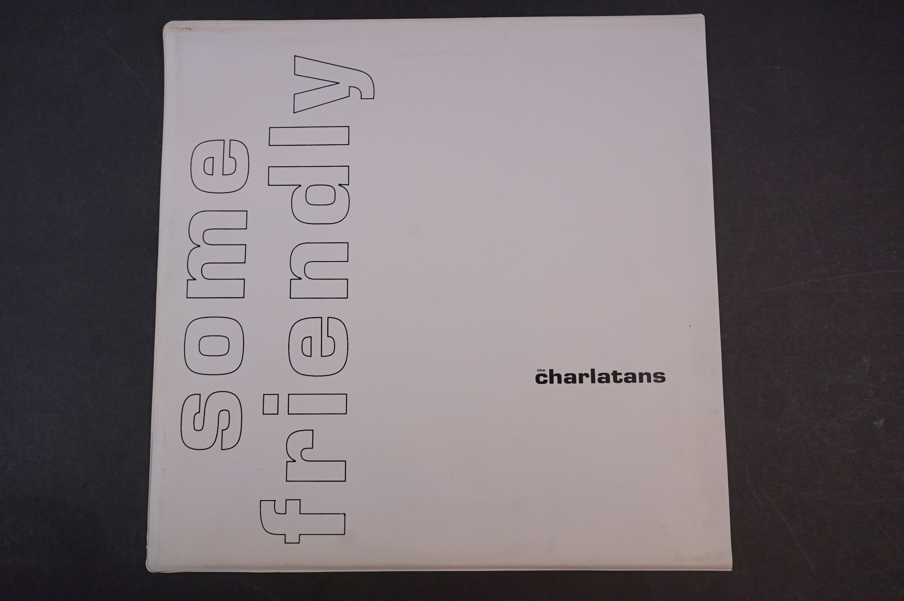 Vinyl - The Charlatans Some Friendly LP with td edn white sleeve, with inner sleeve, vinyl ex, - Image 2 of 9