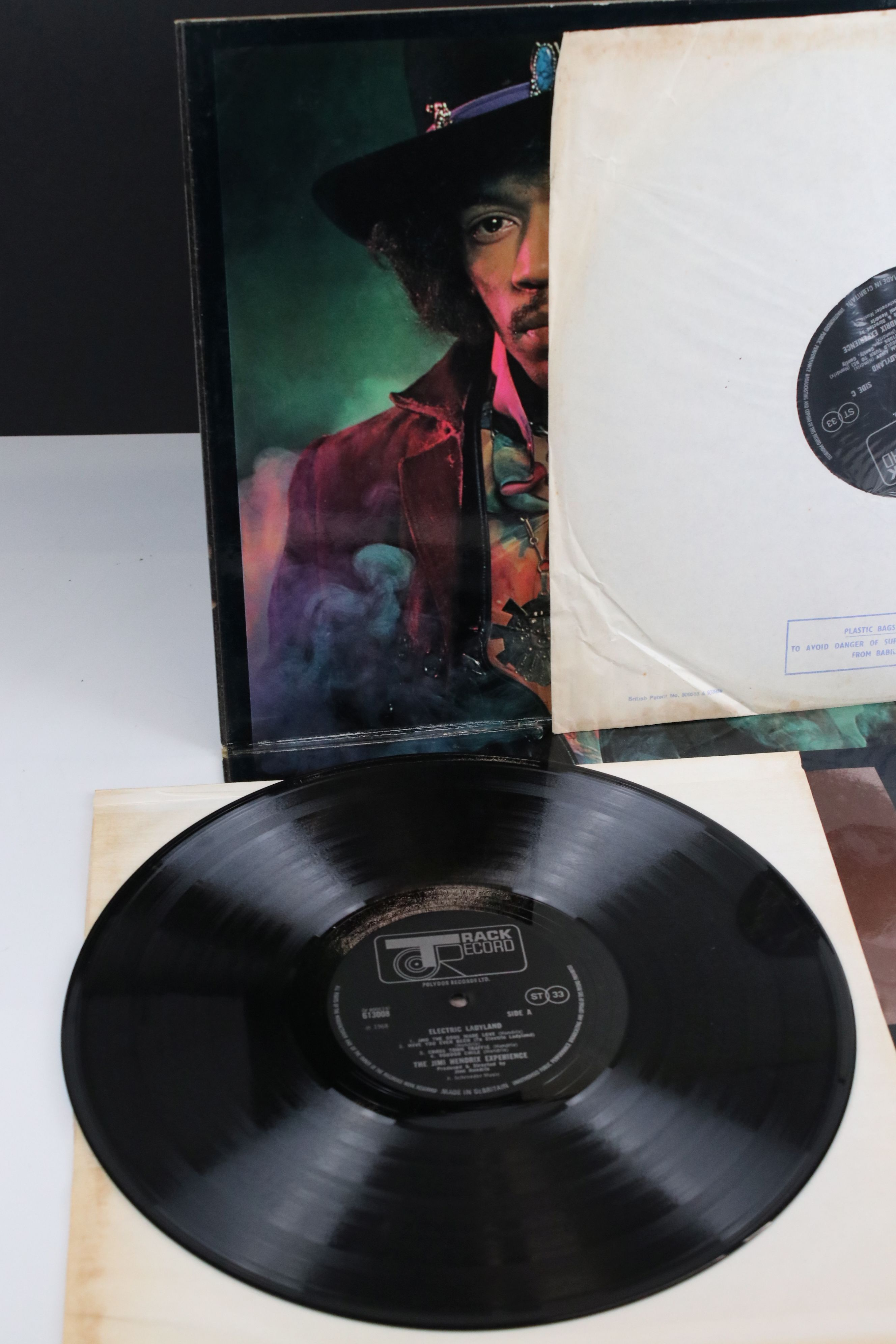 Vinyl - Jimi Hendrix Electric Ladyland on Track 61300819 blue text, Jimi to the right when - Image 2 of 9