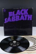 Vinyl - Black Sabbath Masters of Reality LP on Vertigo 6360050, box cover, no poster, Vertigo
