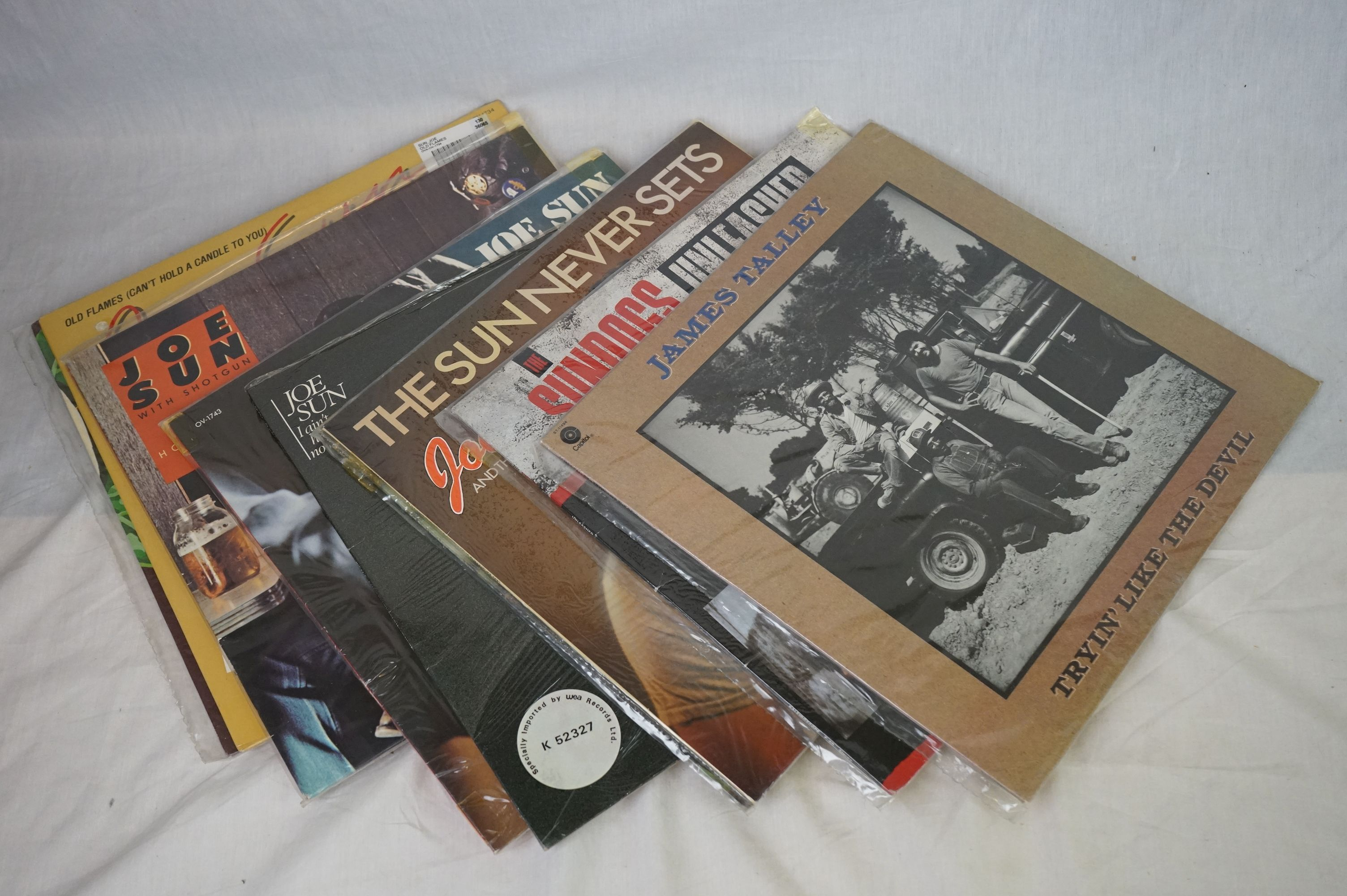 Vinyl - Around 200 LPs to include Country, Rock n Roll, Rockabilly, Compilations etc, sleeves and - Image 2 of 3