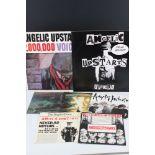 "Vinyl - Punk - Angelic Upstarts - 5 x 7"" singles, 2,000,000 Voices 12"" LP and I'm An Upstart 12"""