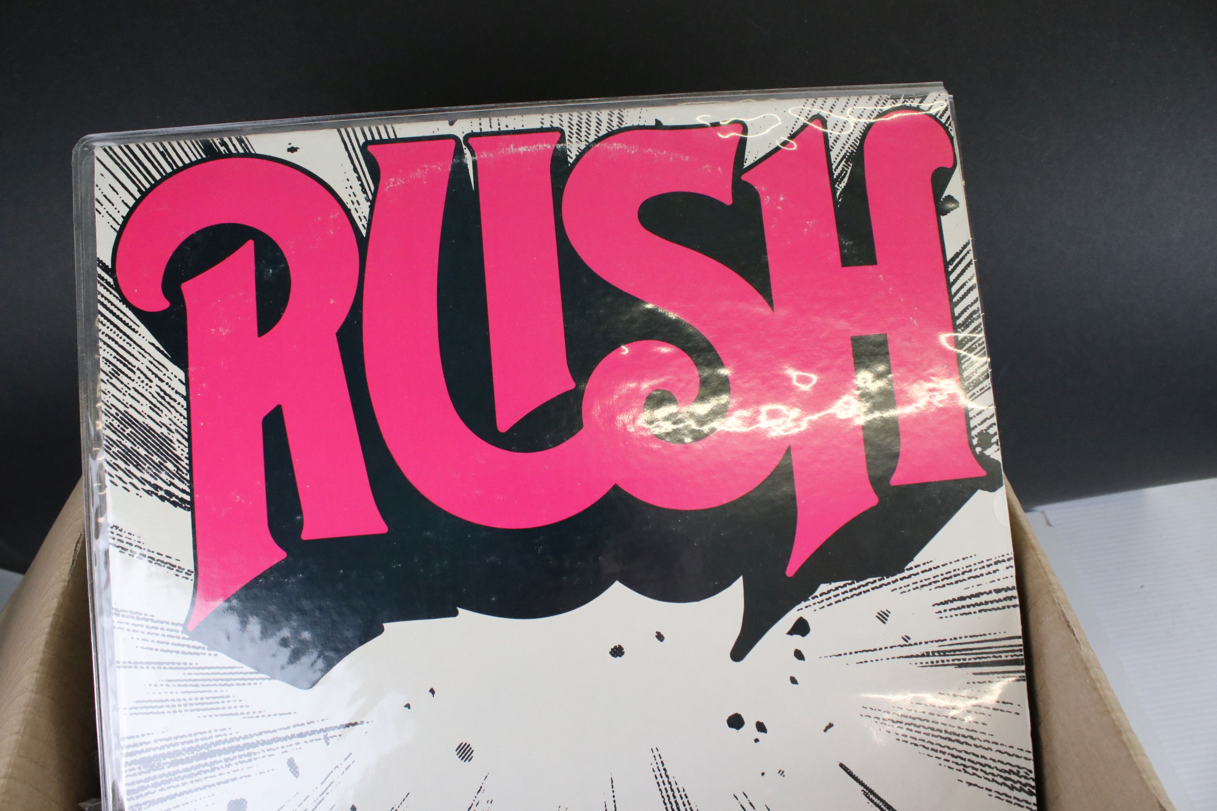 Vinyl - Around 65 US Rock LPs to include Rush, Todd Rundgren, Kiss, Steeley Dan, Lone Star etc, - Image 4 of 9