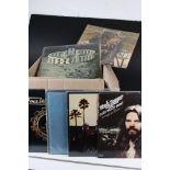 Vinyl - Around 55 US Rock LPs to include Rob Seger, Tom Petty, Santana, Tom Rapp etc, sleeves and
