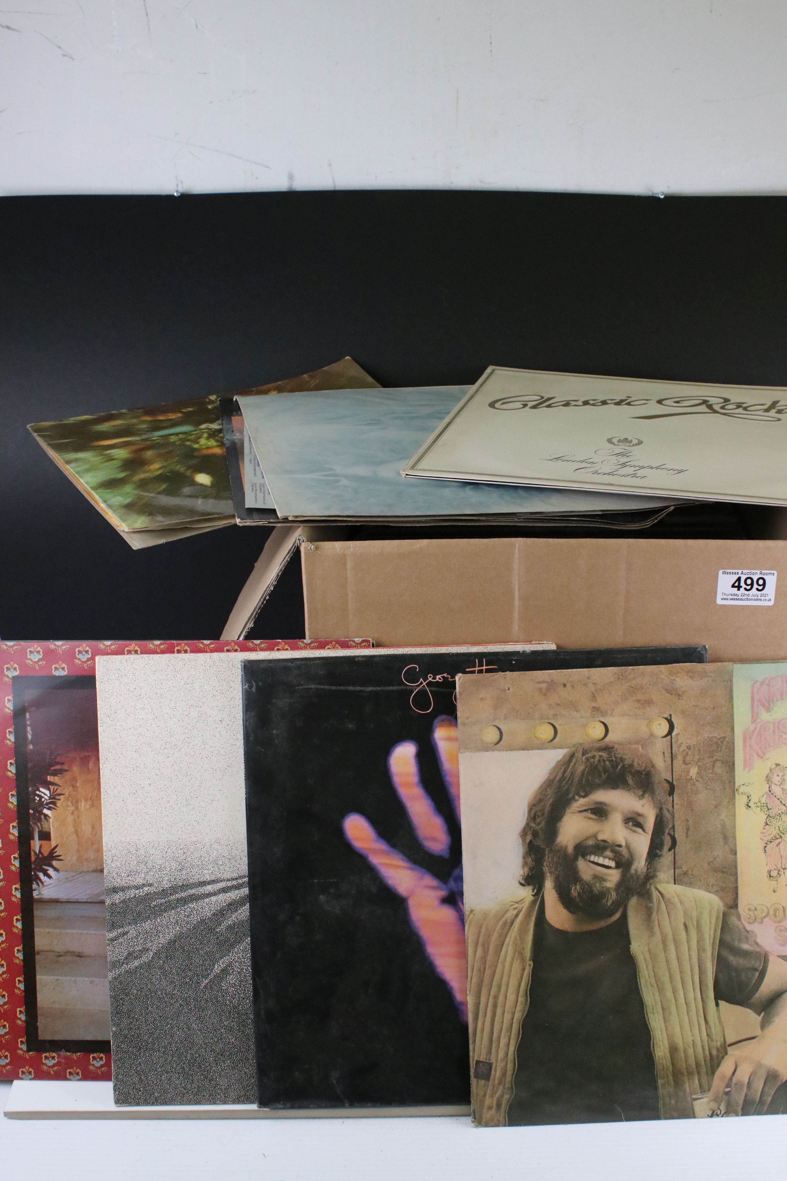 Vinyl - Rock & Pop collection of approx 45 LP's featuring Cat Stevens, Bad Company, Fleetwood Mac,
