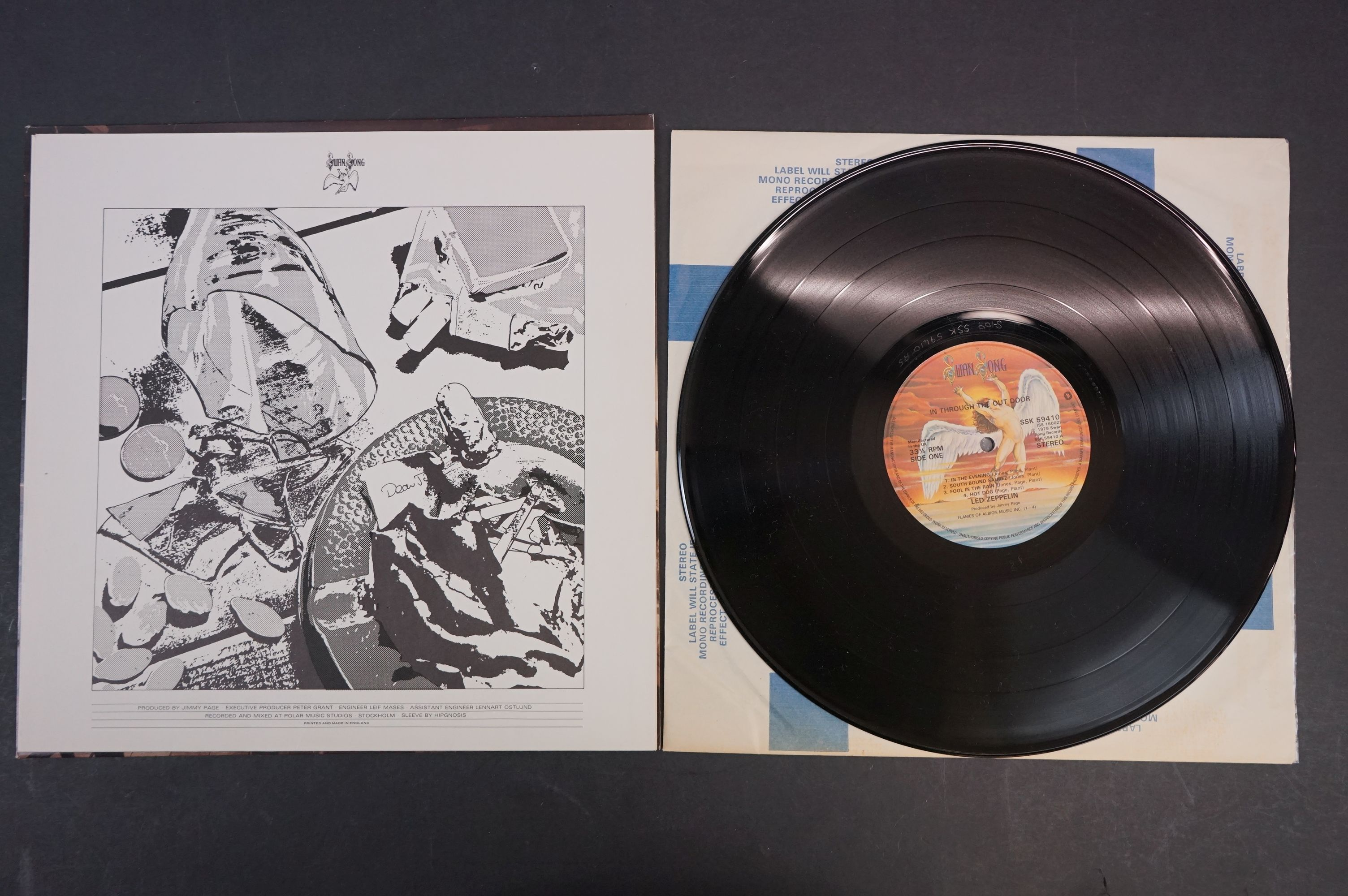 Vinyl - Six Led Zeppelin LPs to include In Through the Outdoor (cover D) SSK59410, Coda 790051, 2 - Image 16 of 17