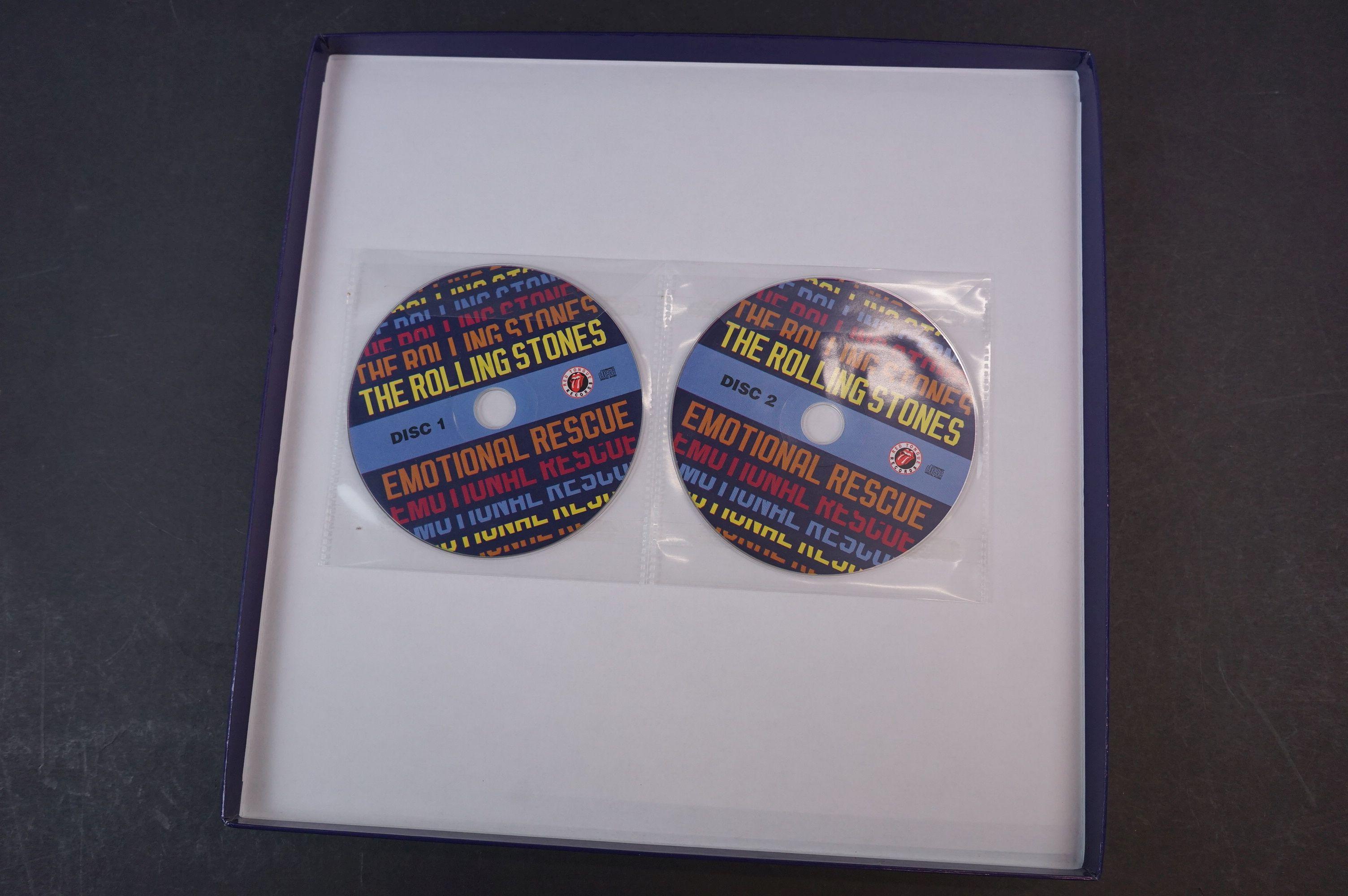 Vinyl - ltd edn The Real Alternate Album Rolling Stones Emotional Rescue 4 LP / 2 CD Box Set, - Image 2 of 12
